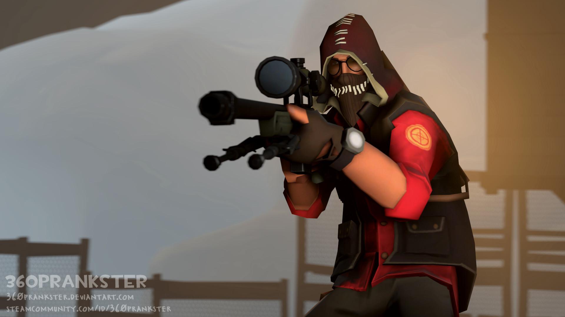 Res: 1920x1080, SFM] TF2 Loadout Sniper 360PraNKsTer by 360PraNKsTer on