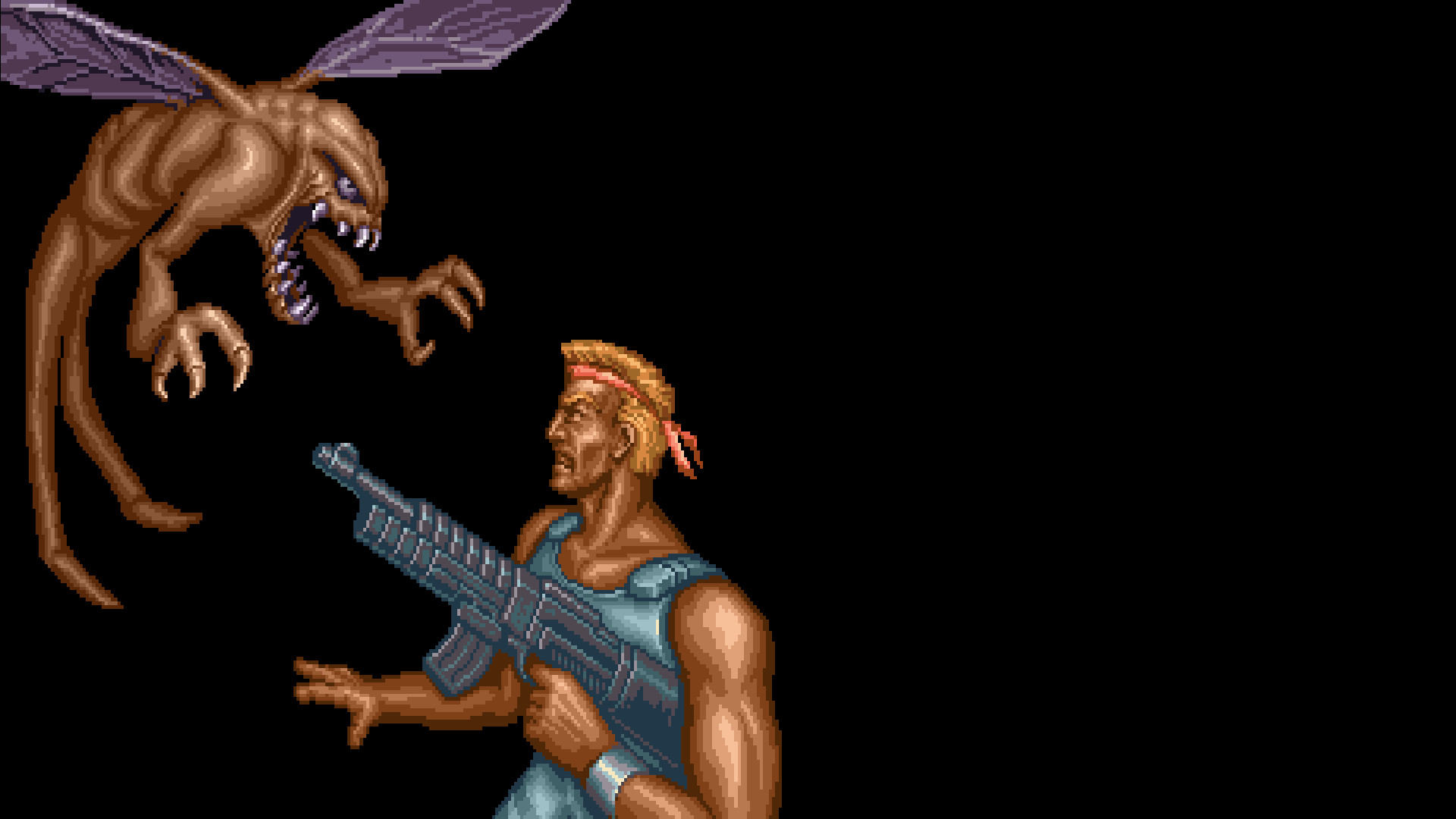 Res: 1920x1080, ... Contra III: The Alien Wars - Wallpaper #1 by shelcod
