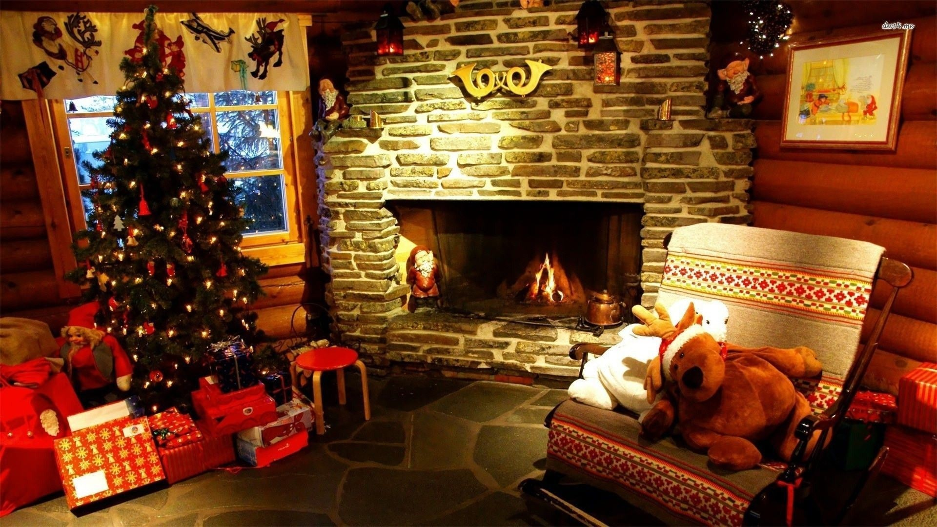 Res: 1920x1080, Christmas Fireplace Wallpaper Animated Free - Free Christmas Fireplace  Wallpapers Wallpaper Cave Android Pinterest