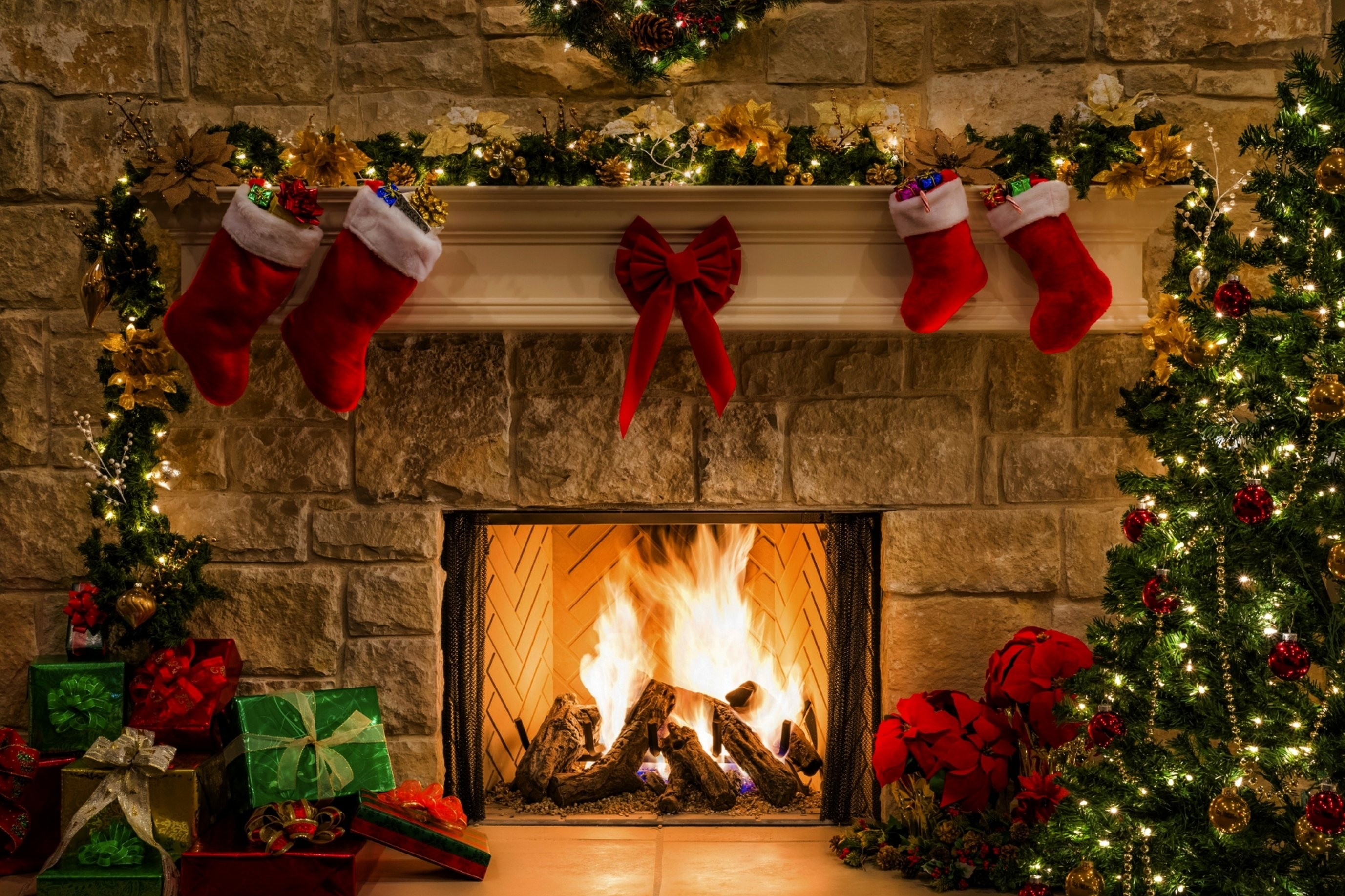 Res: 2754x1835, Title : information ( christmas fireplace wallpapers images #3. Dimension :  2754 x 1835. File Type : JPG/JPEG