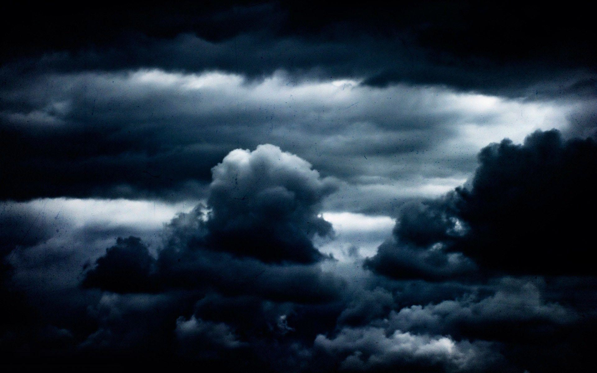 Res: 1920x1200, Dark clouds wallpaper #