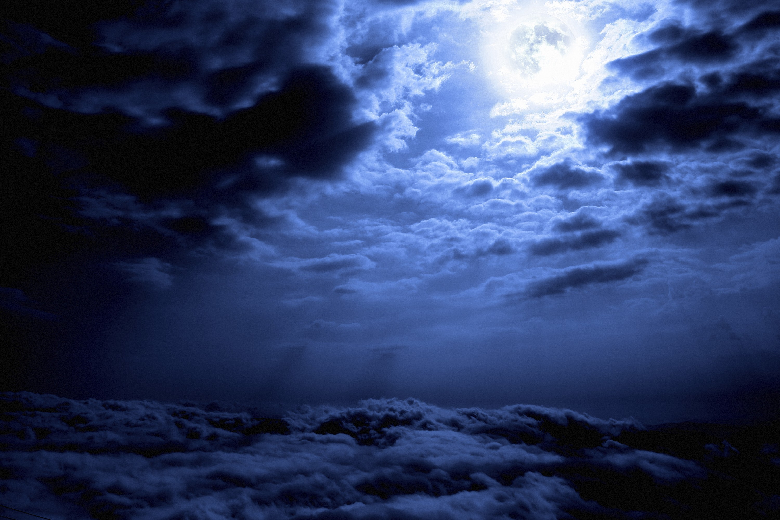 Res: 3000x2000, Full Moon and Dark Clouds HD Wallpaper | Hintergrund |  |  ID:687636 - Wallpaper Abyss