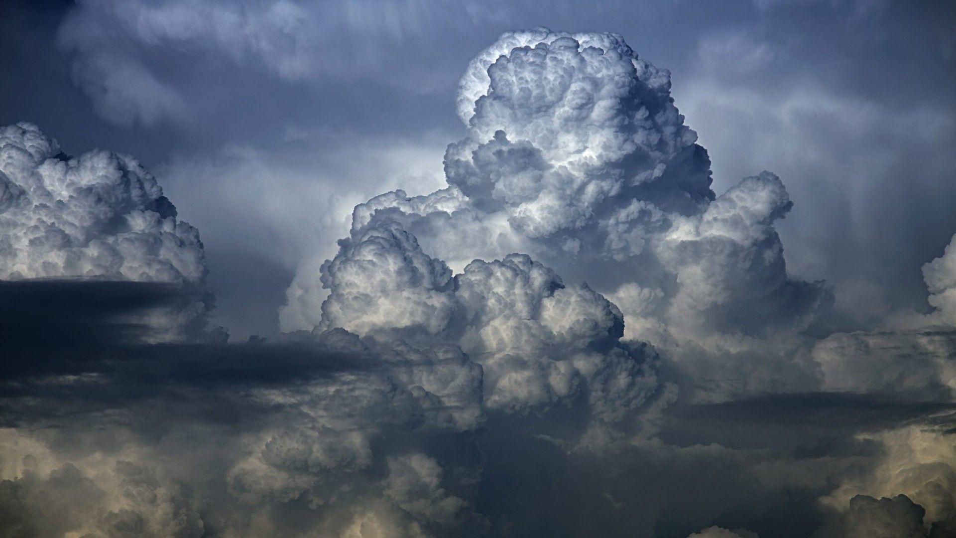 Res: 1920x1080, Amazing big dark cloud image