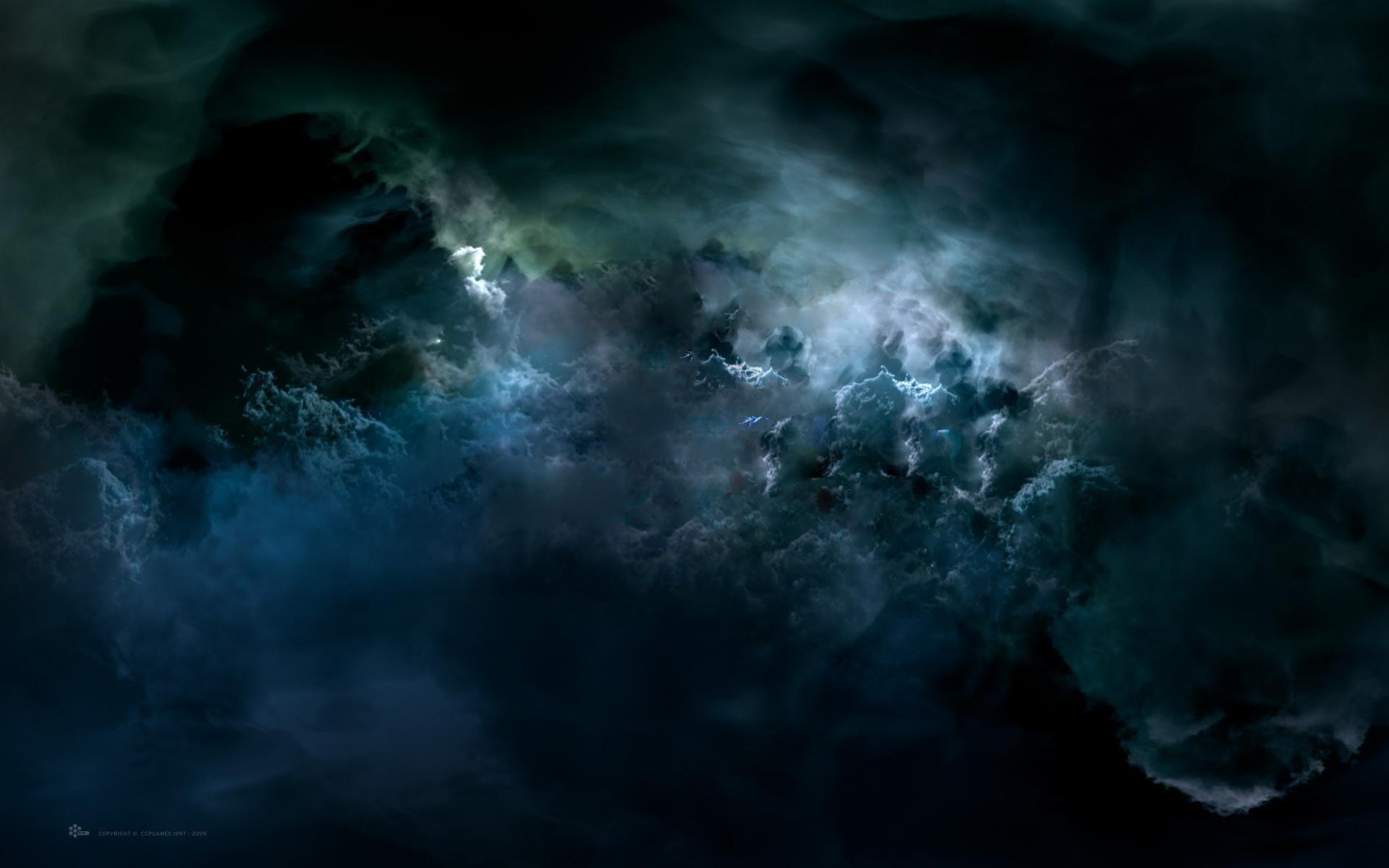 Res: 1920x1200, dark clouds wallpaper