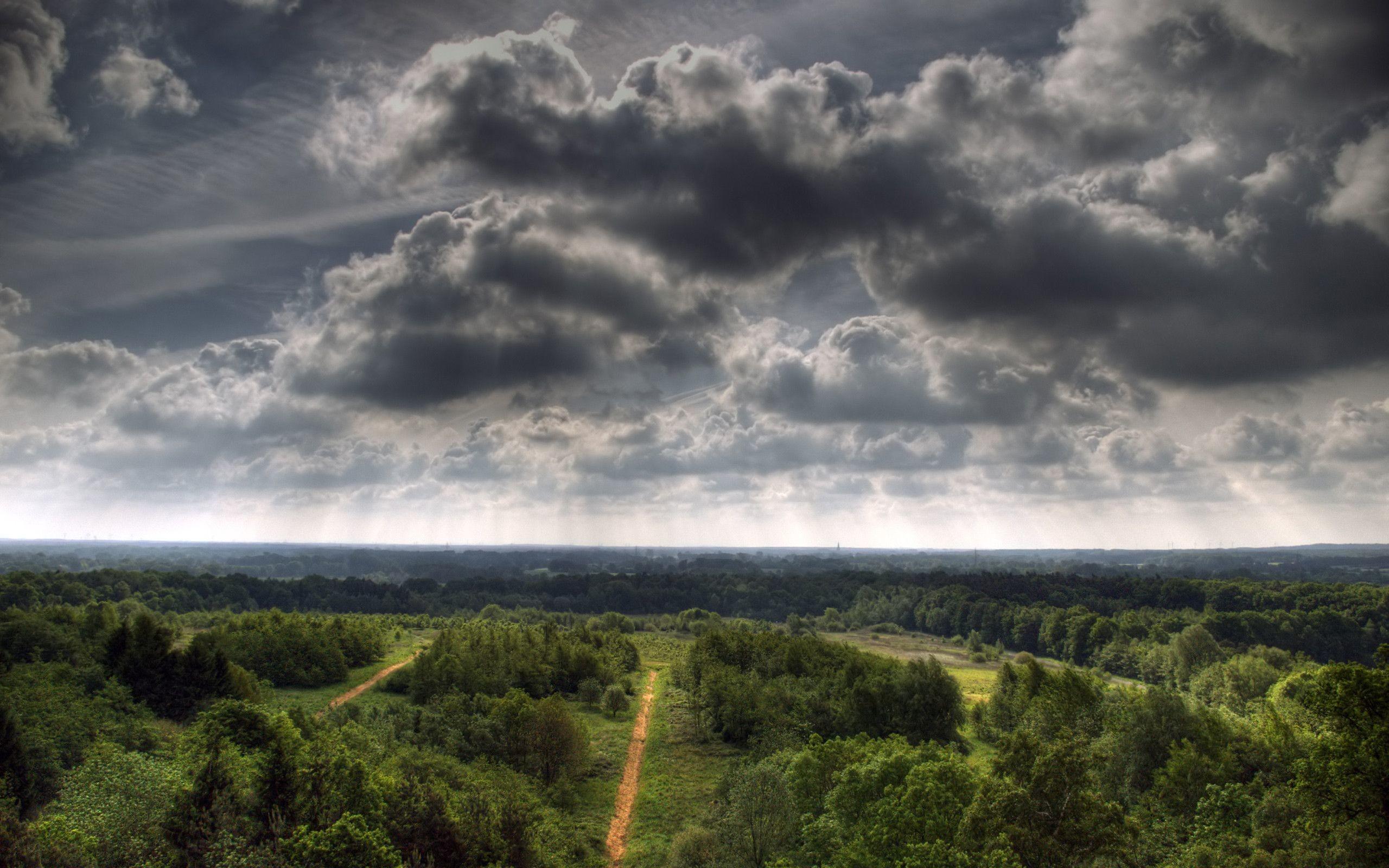 Res: 2560x1600, Dark Clouds Wallpapers - Wallpaper Cave