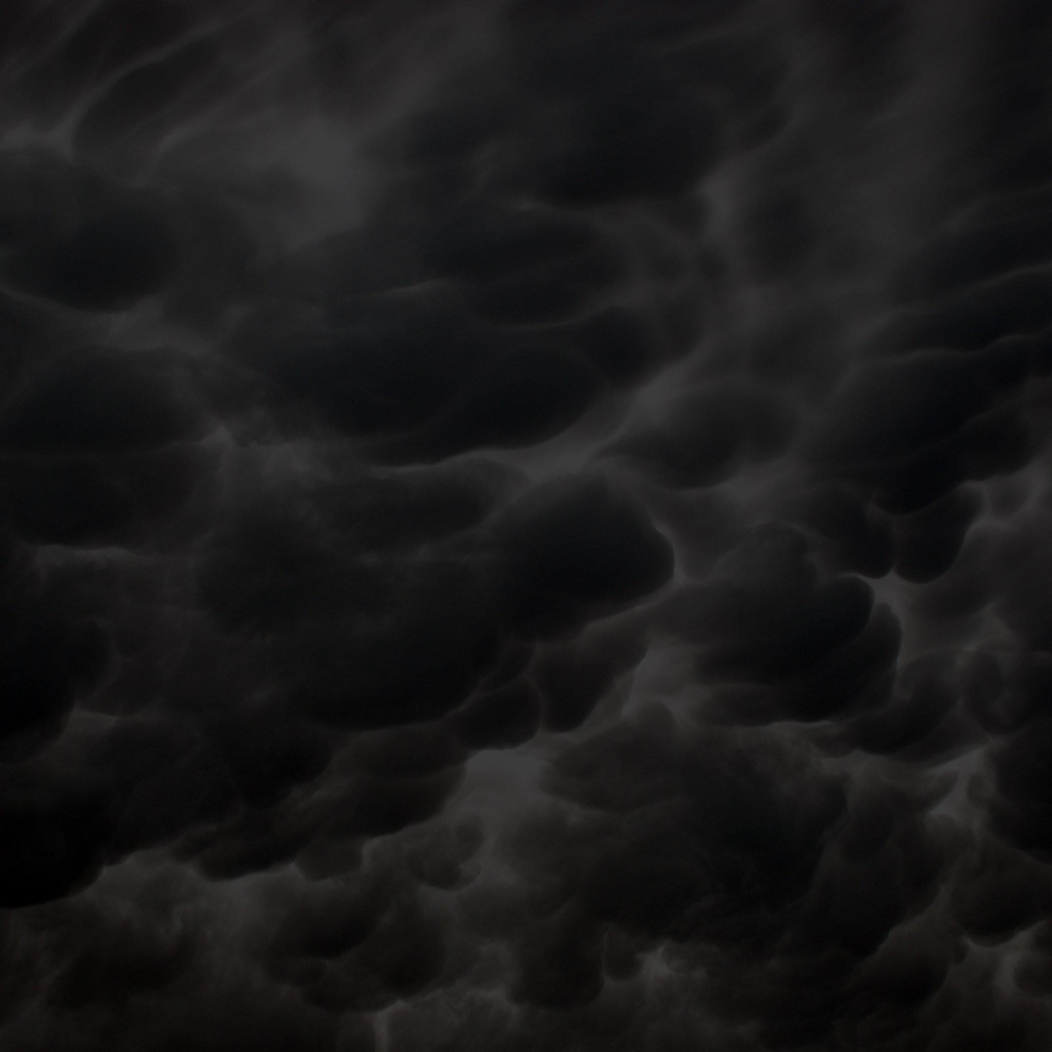 Res: 2048x2048, Dark Clouds Background Wallpaper 08737 Baltana