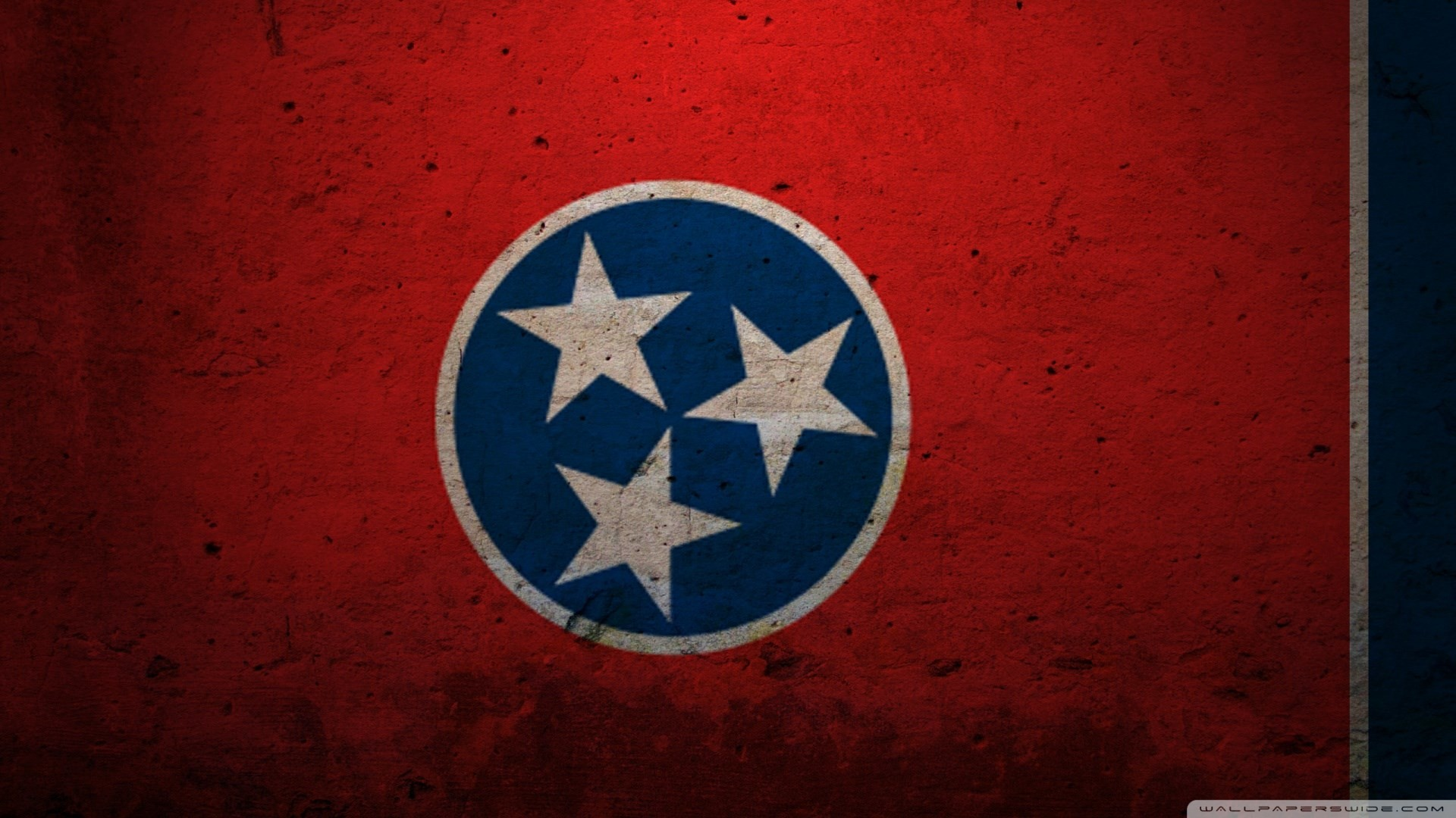 Res: 1920x1080,  Wallpaper Desktop-Flagge von Tennessee, 361 kB - Hurley Chester  JPG 361 kB