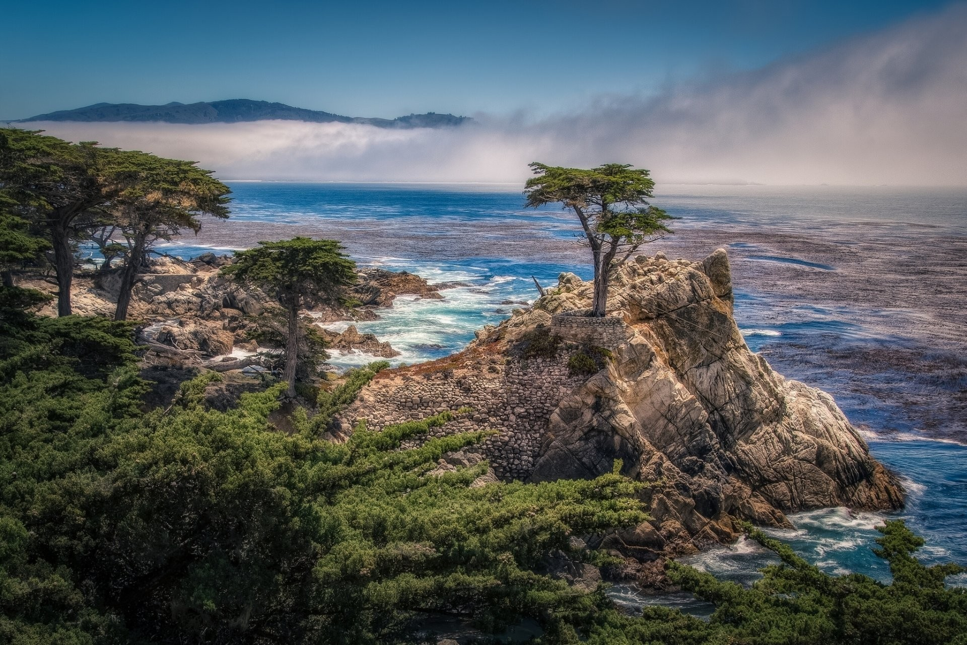Res: 1920x1281, pebble beach california the lone cypress carmel bay 17-mile drive lone  cypress gulf rock