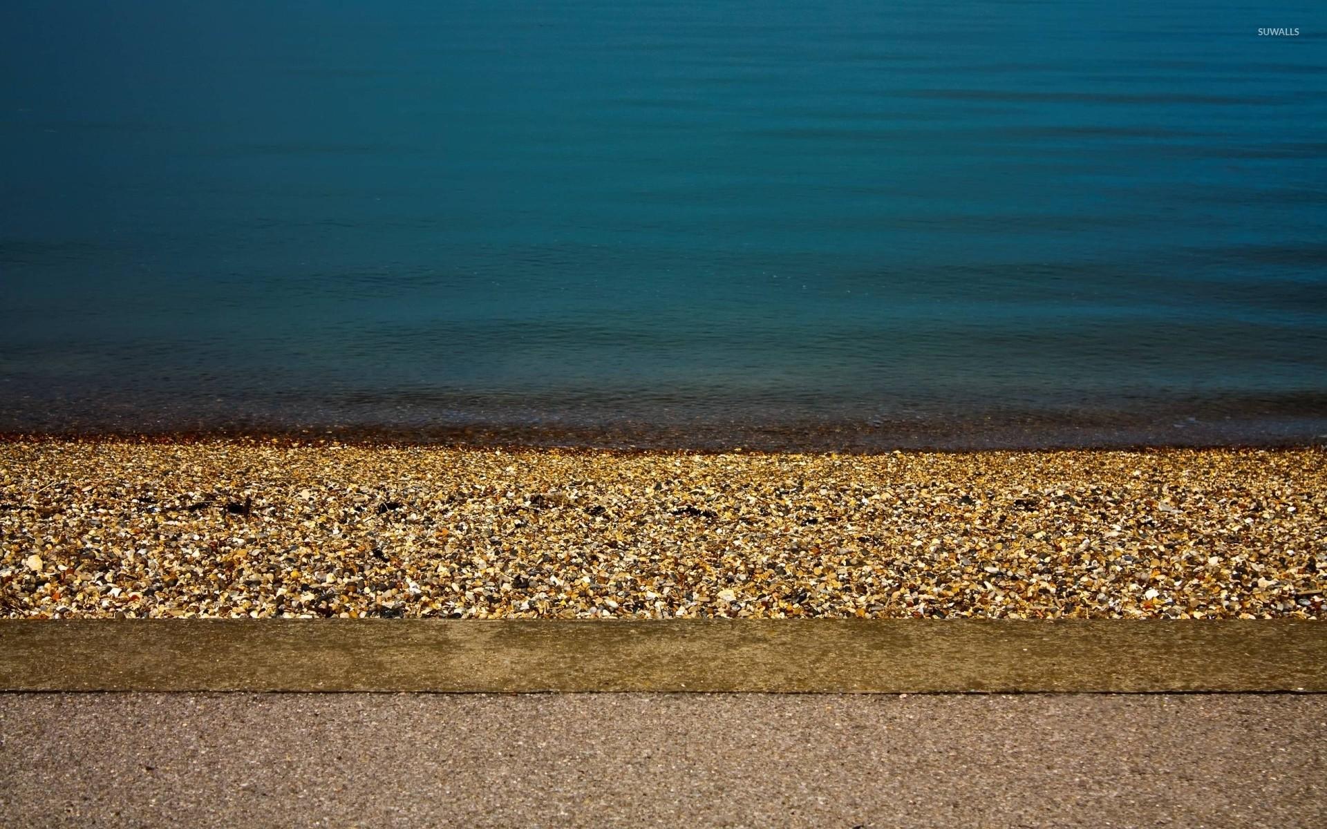 Res: 1920x1200, Pebble beach wallpaper