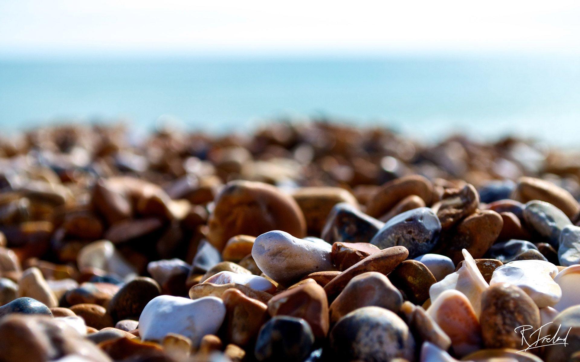 Res: 1920x1200, Brighton Beach Stones – HD iPhone Wallpaper