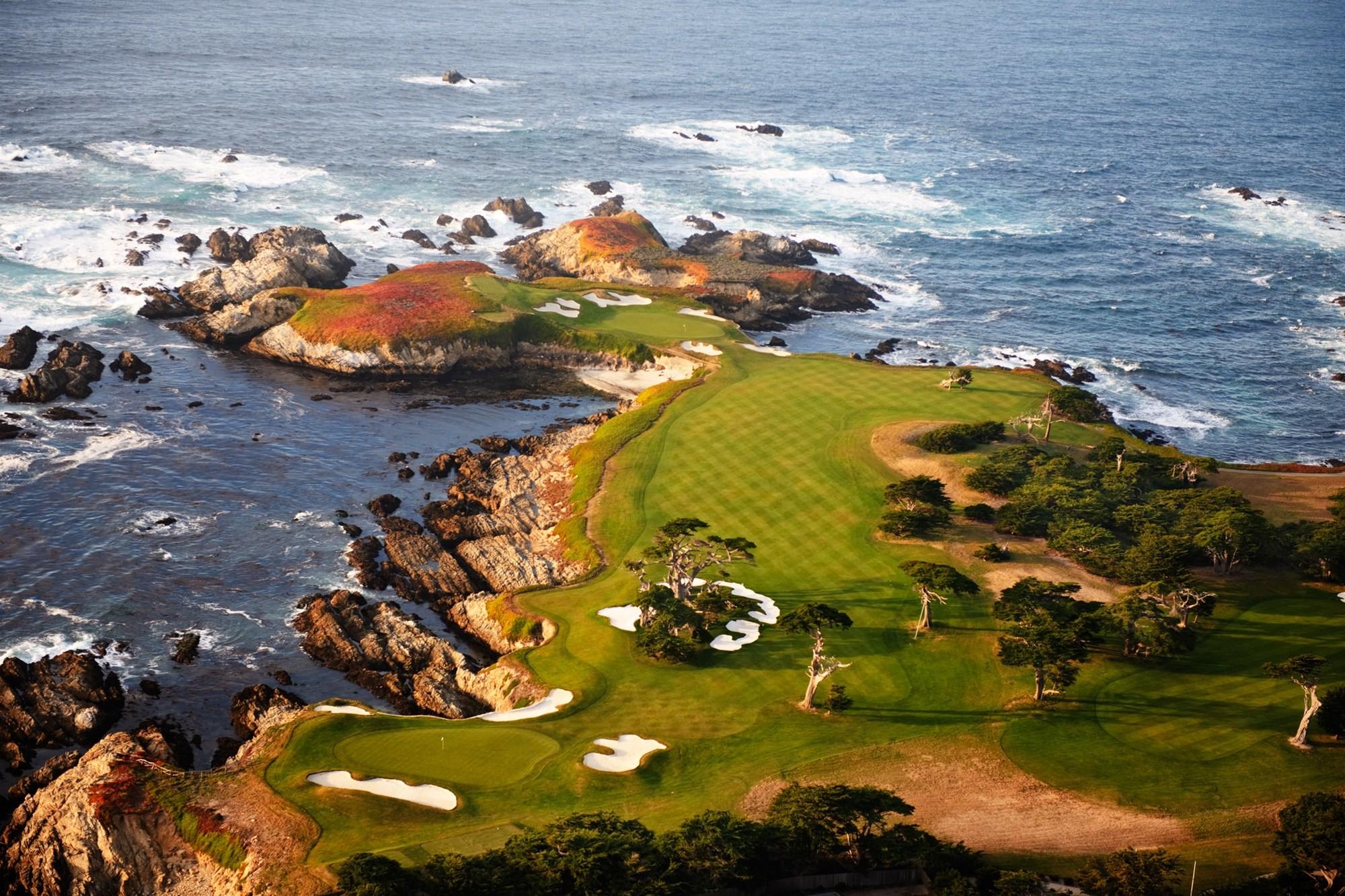Res: 2000x1333, Pebble Beach Golf Course Wallpaper ( px)