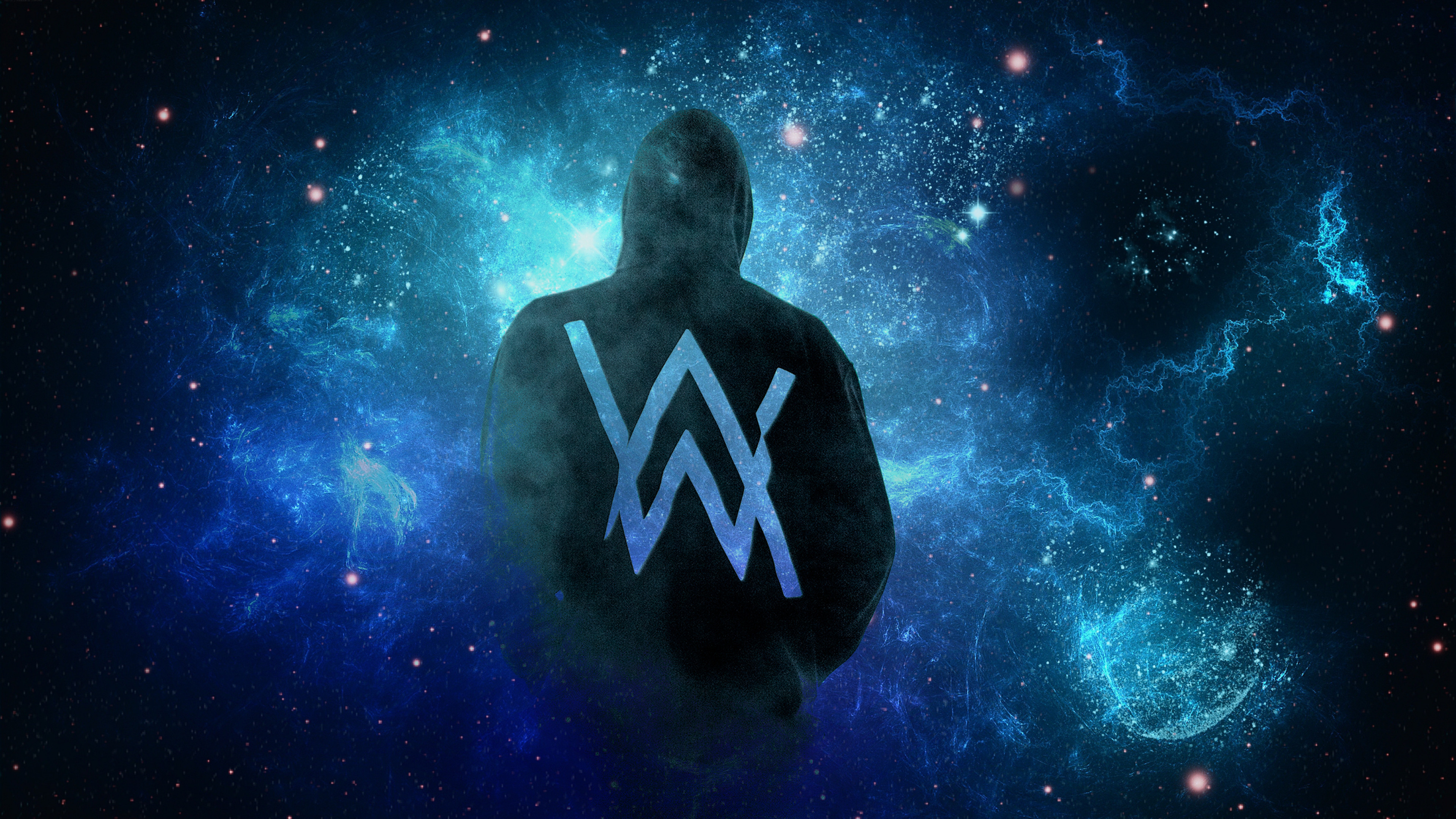Res: 3840x2160, Music - Alan Walker DJ Music Wallpaper