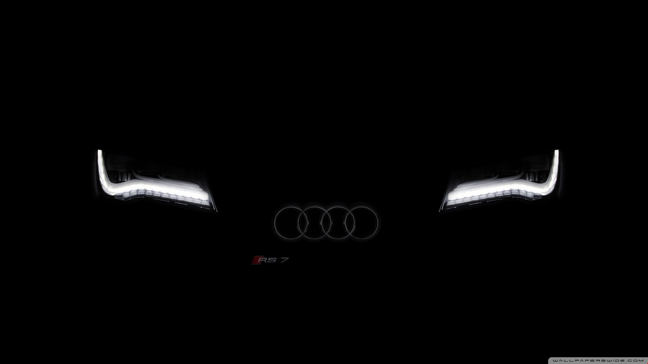 Res: 2560x1440, Download 2k Faded AUDI - Black & Dark Wallpapers HD