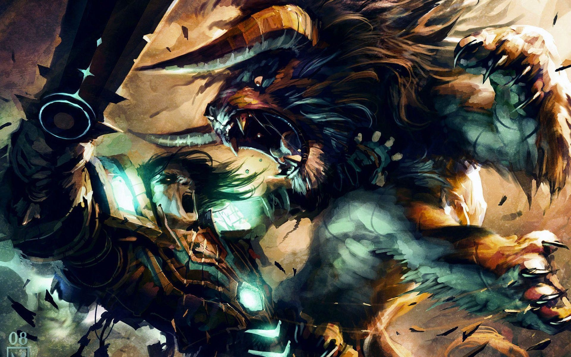 Res: 1920x1200, Druid Wallpaper : Wallpapers Fight Card Game Cat Druid X ~ Druid .