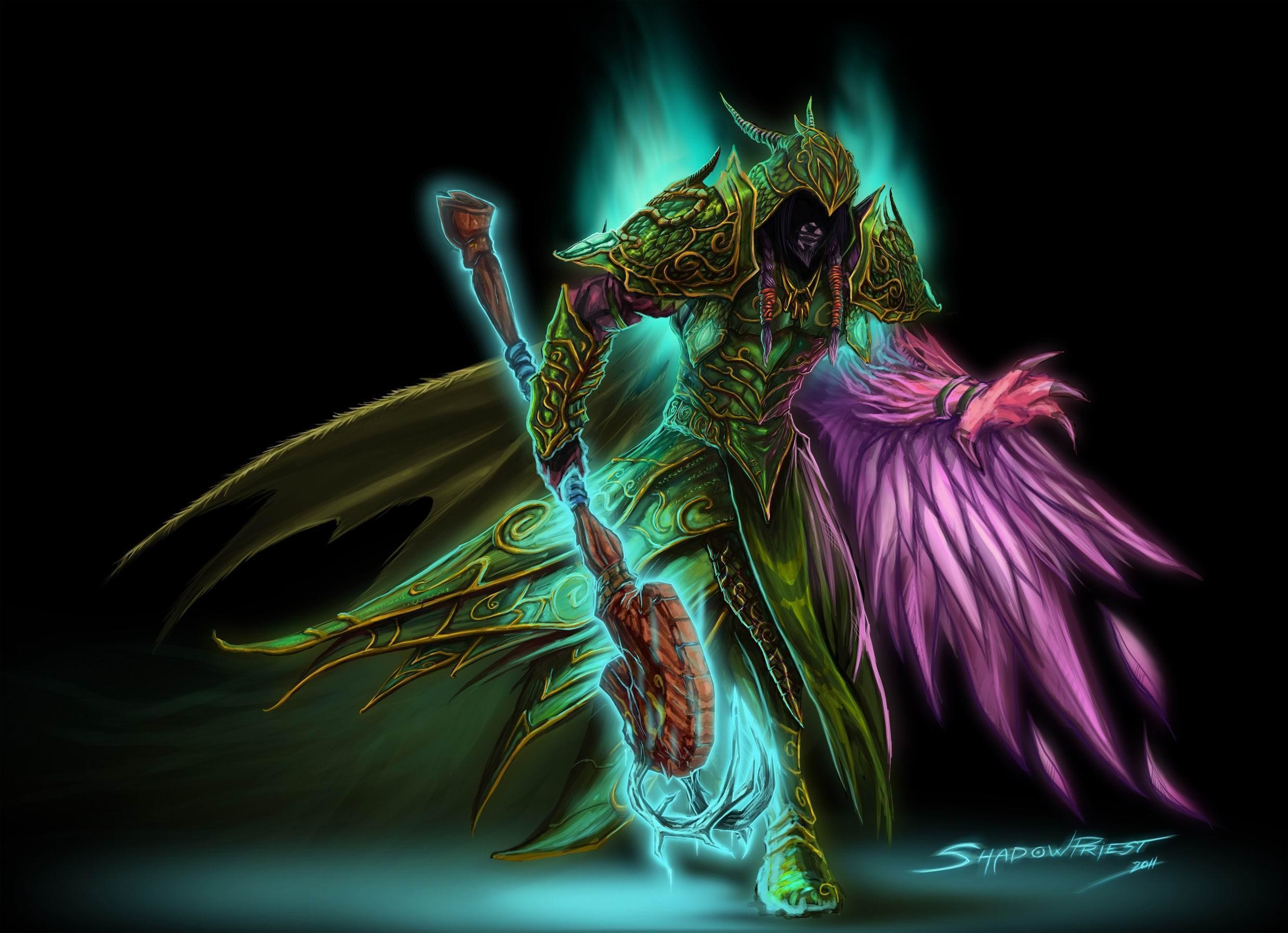 Res: 2481x1798, Night Elf Druid WOW | HD Wallpapers
