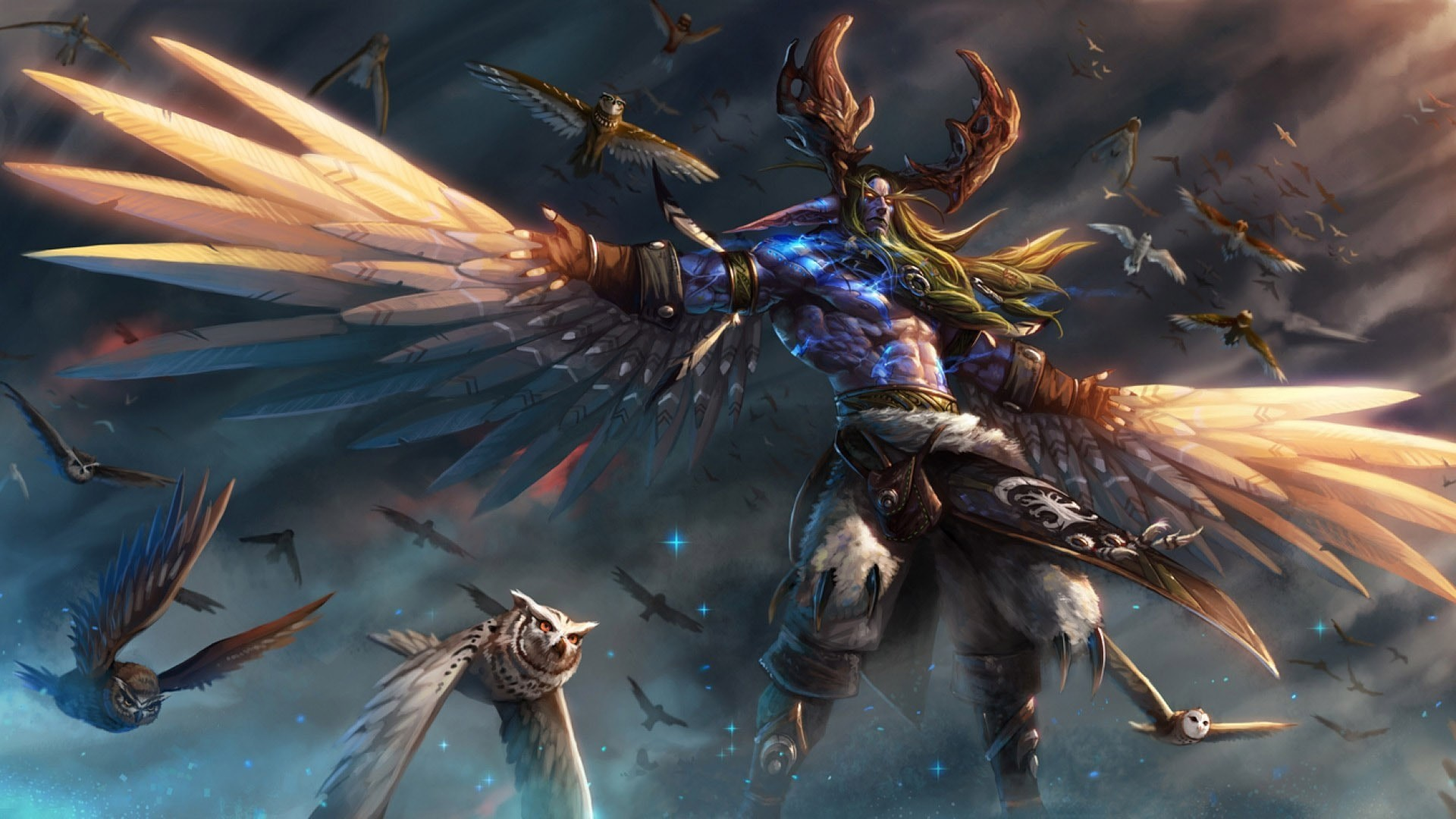Res: 1920x1080, WOW: Malfurion Stormrage Wallpapers