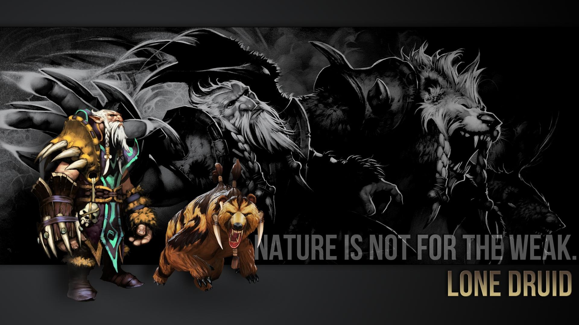 Res: 1920x1080, Feral Druid wallpaper I made :-D : wow
