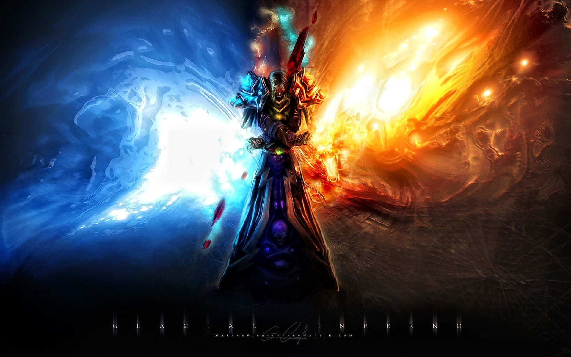 Res: 1920x1200, world of warcraft wallpaper frost mage - Google Search