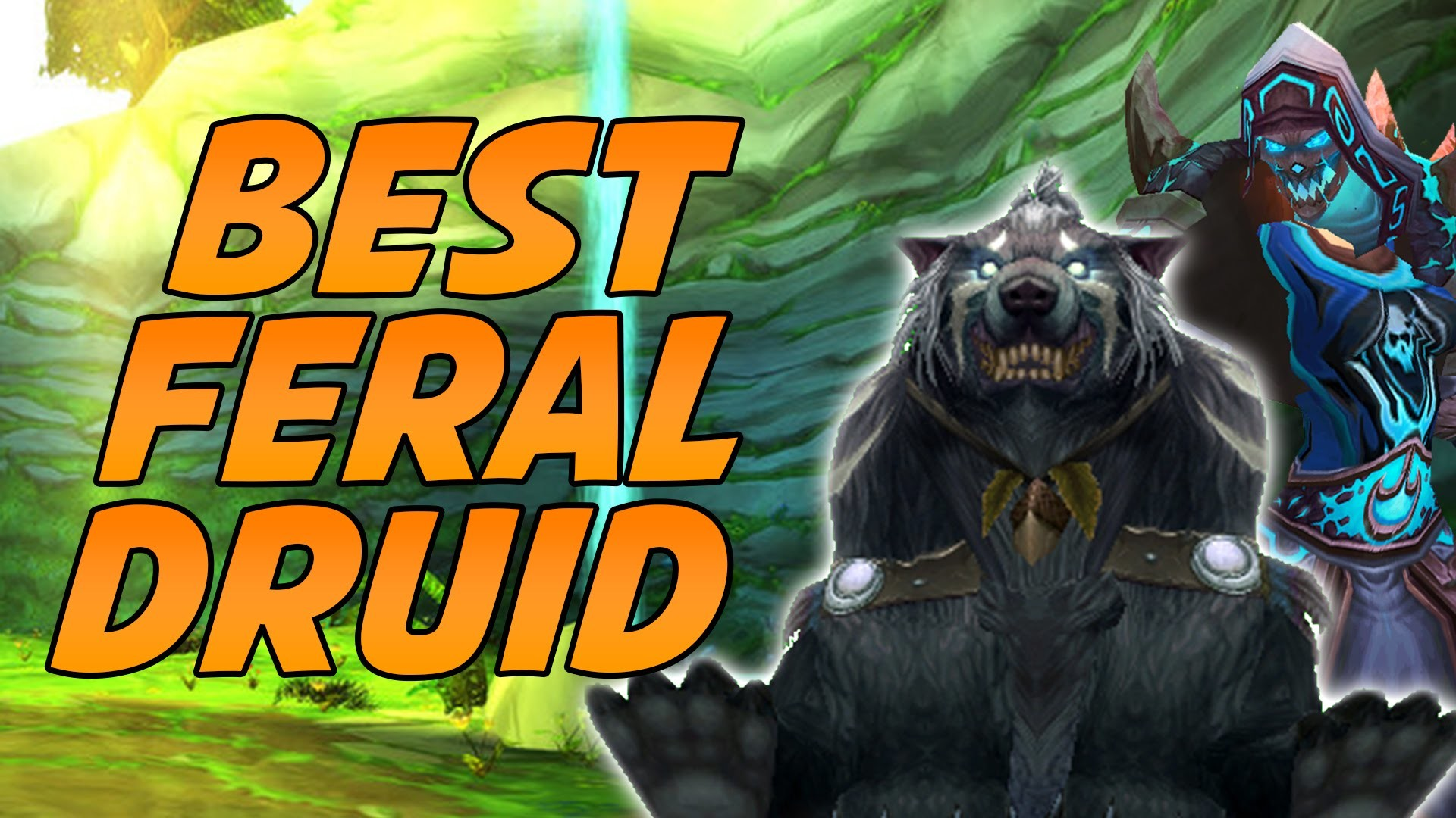 Res: 1920x1080, Cartoonz Plays With the BEST Feral Druid