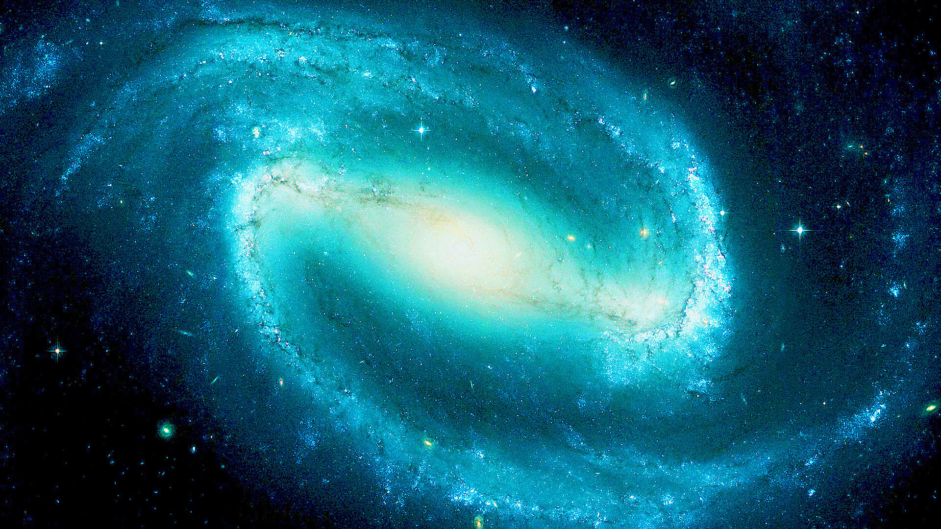 Res: 1920x1080, Ngc 1300, blue, galaxy,  HD Wallpaper and FREE Stock Photo