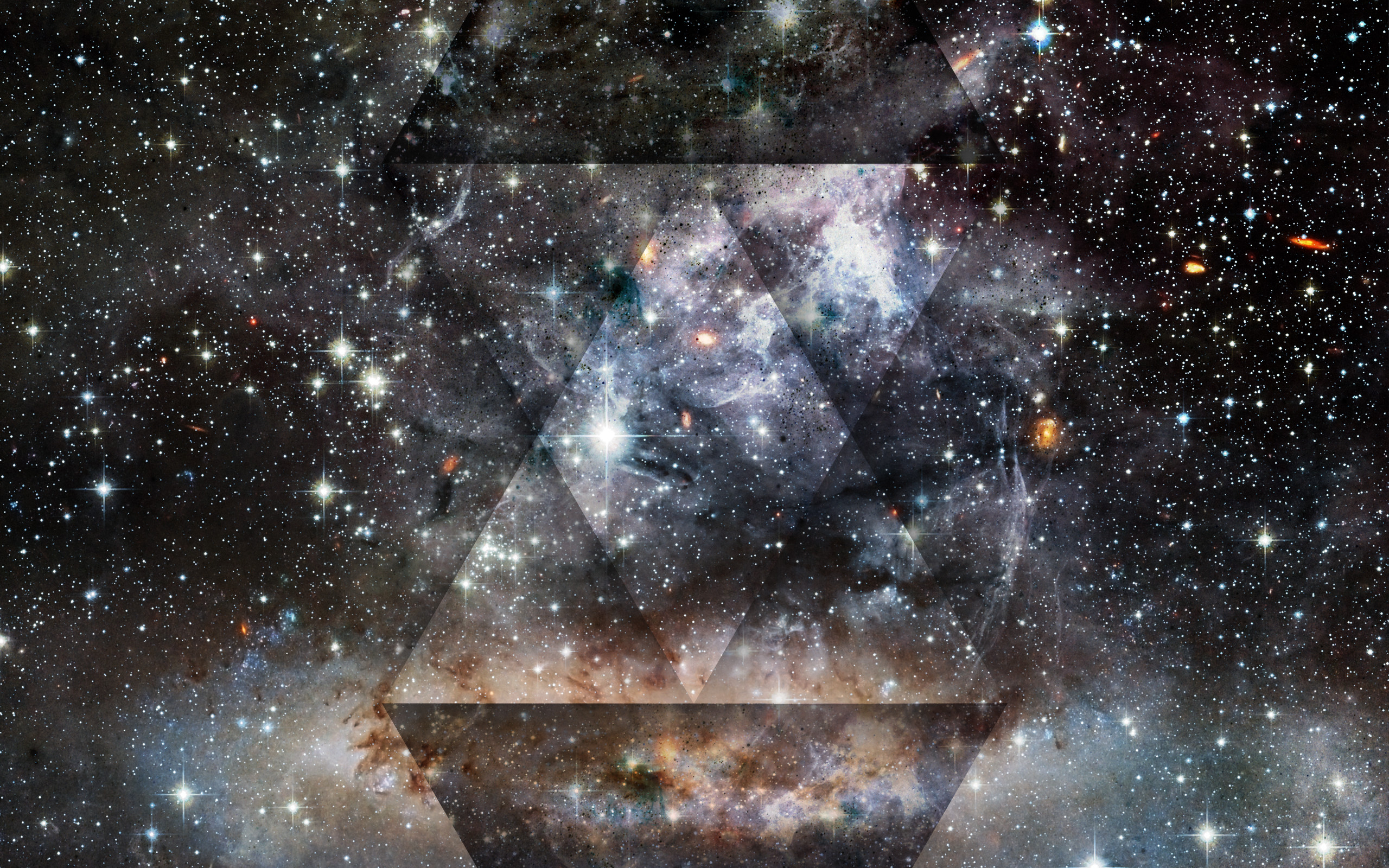 Res: 2560x1600, Galaxy Tumblr Triangle Wallpaper Widescreen Is Cool Wallpapers