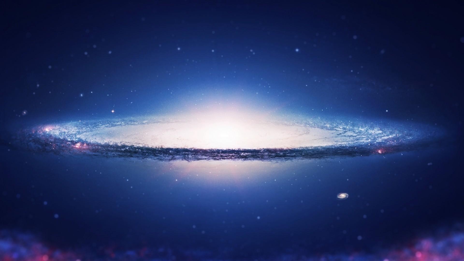 Res: 1920x1080, 6. blue-galaxy-wallpaper-HD6-600x338
