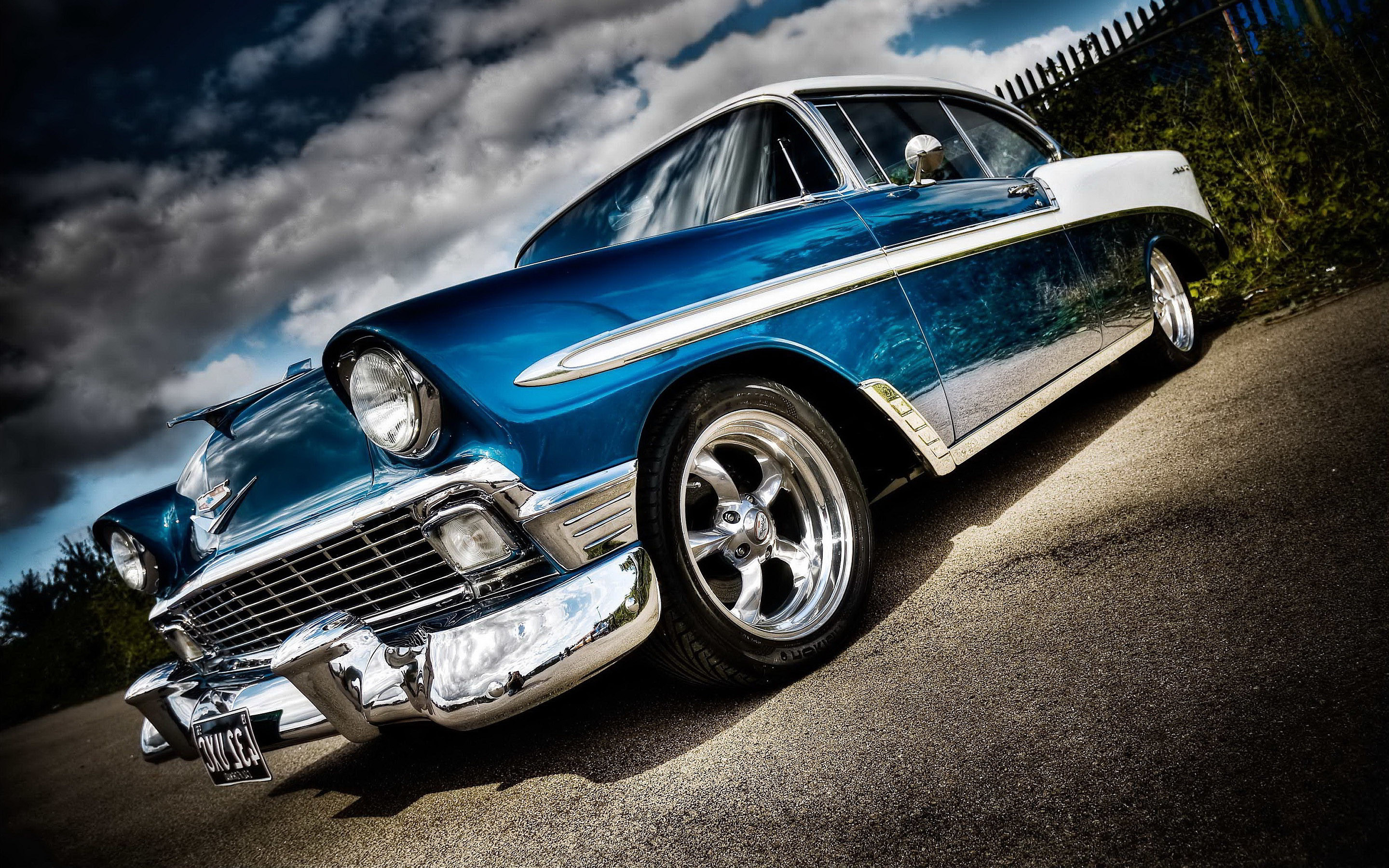 Res: 2880x1800, ... Download V.64 - Old Car, Wallpapers-Web Graphics ...