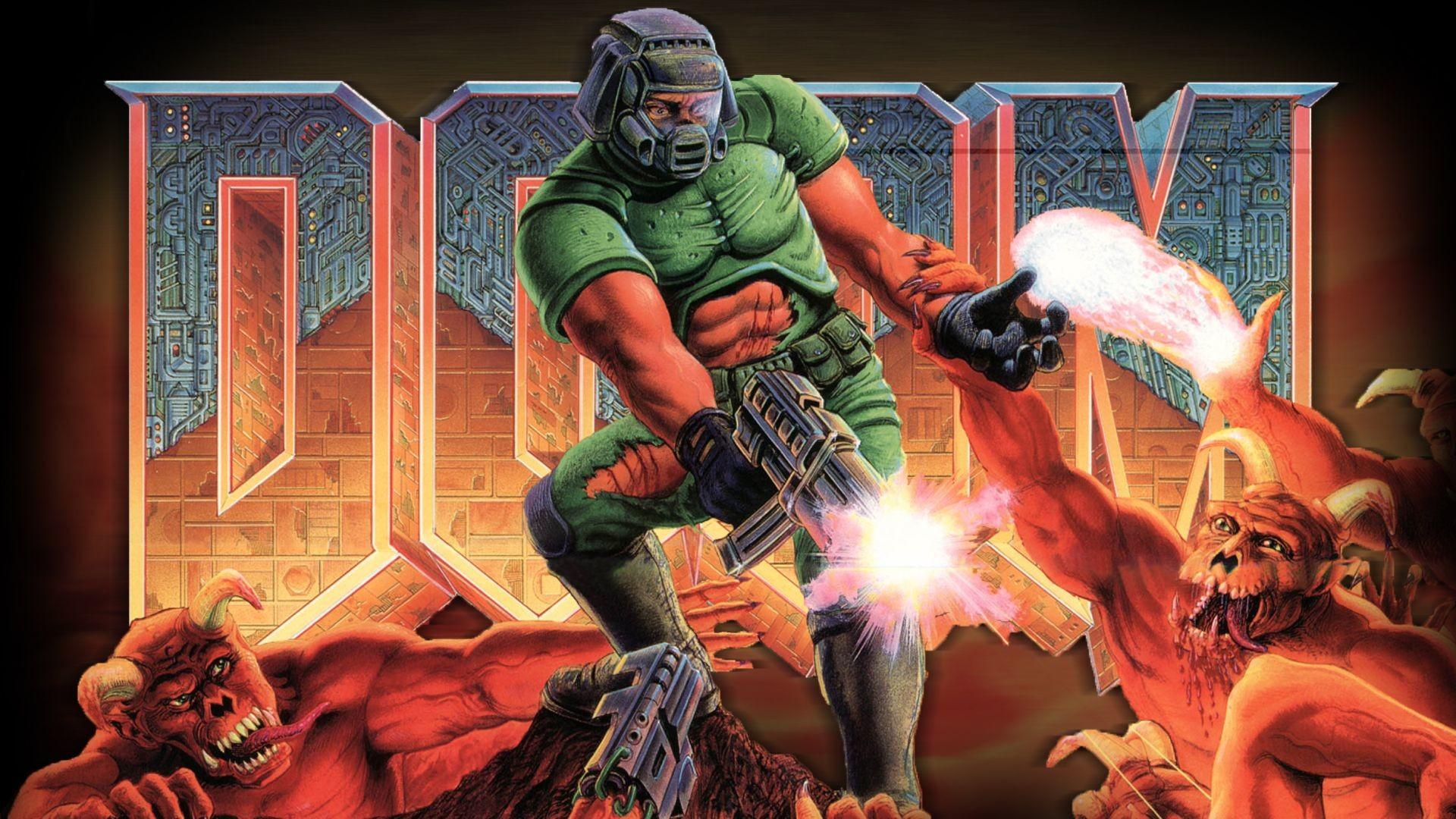 Res: 1920x1080, Doom Computer Wallpapers Desktop Backgrounds ID × Doom