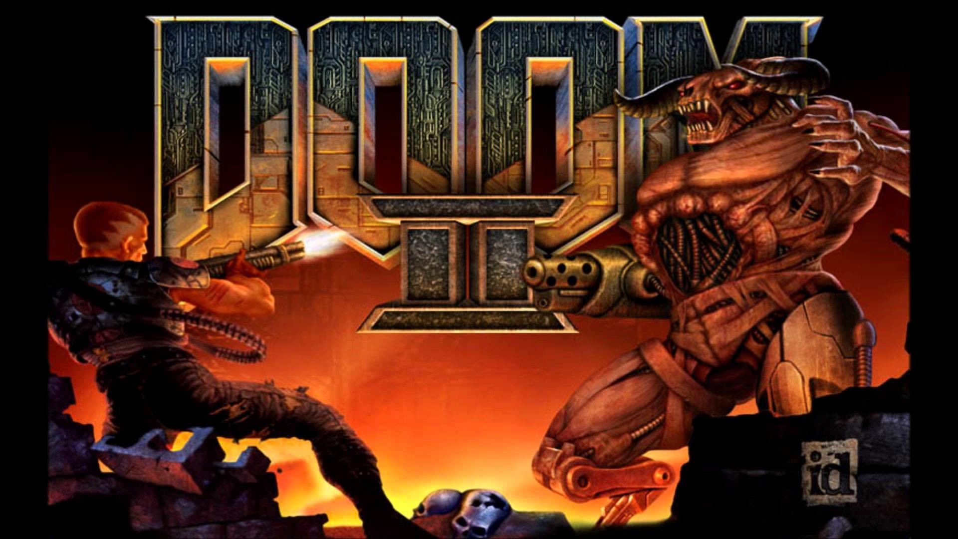 Res: 1920x1080,  ... Wallpaper Abyss DOOM II: Hell on Earth - Shawn's Got The  Shotgun (Map 07 - Dead .