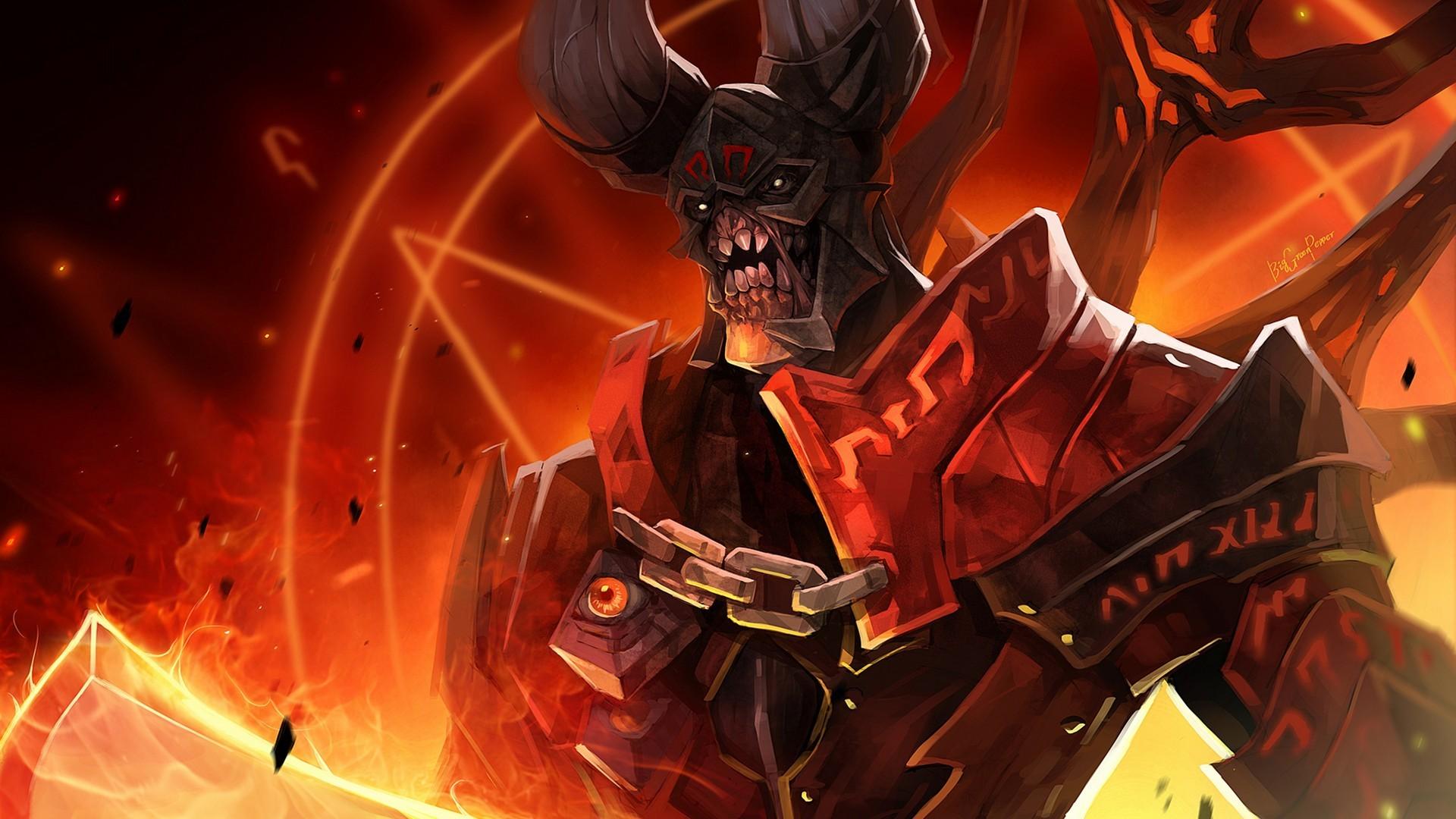 Res: 1920x1080, Doom Doom Dota Heroes Screen Shot Wallpaper HD For Desktop