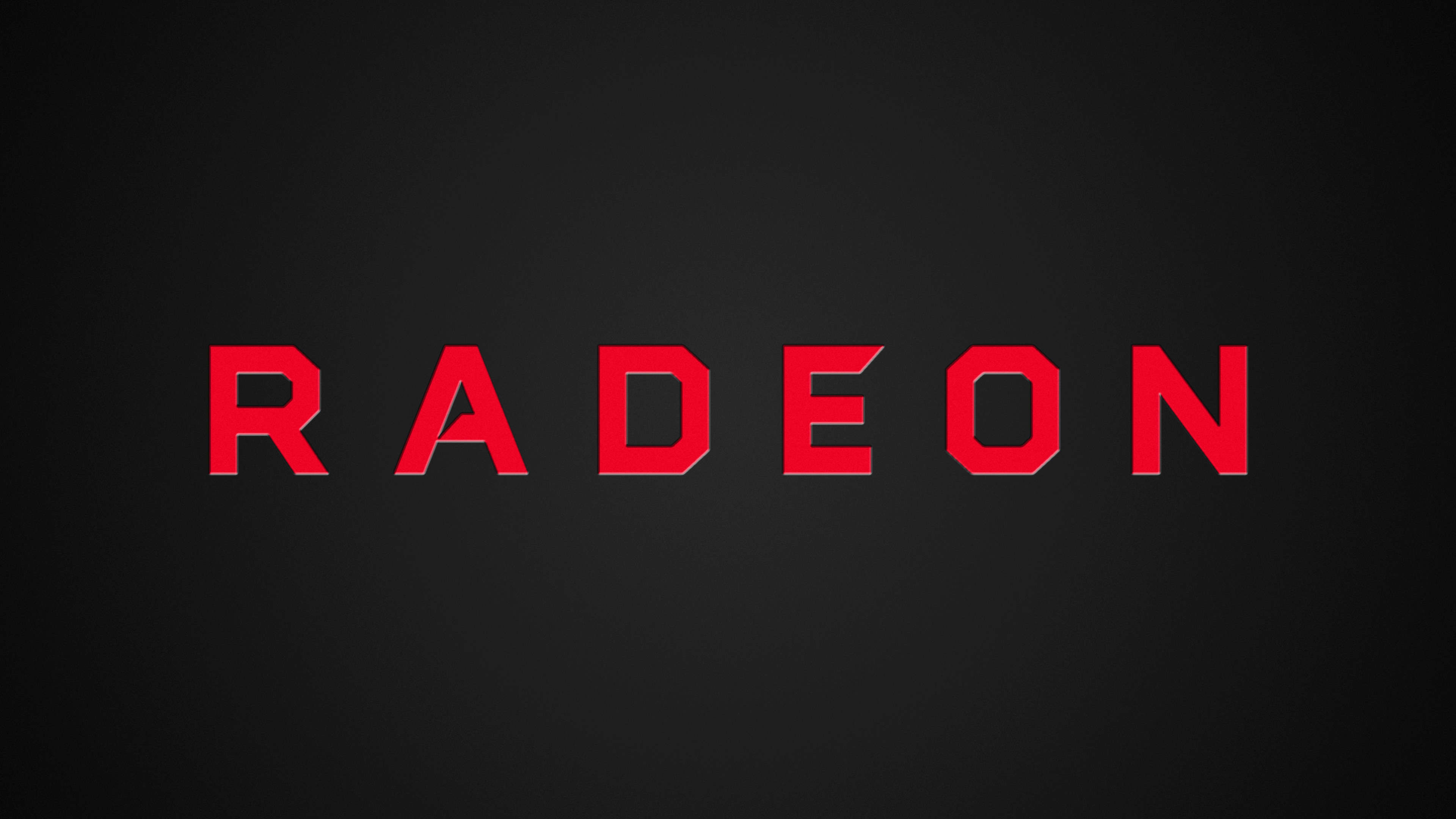 Res: 3840x2160, ... New Radeon Logo 4K Wallpaper by RV770