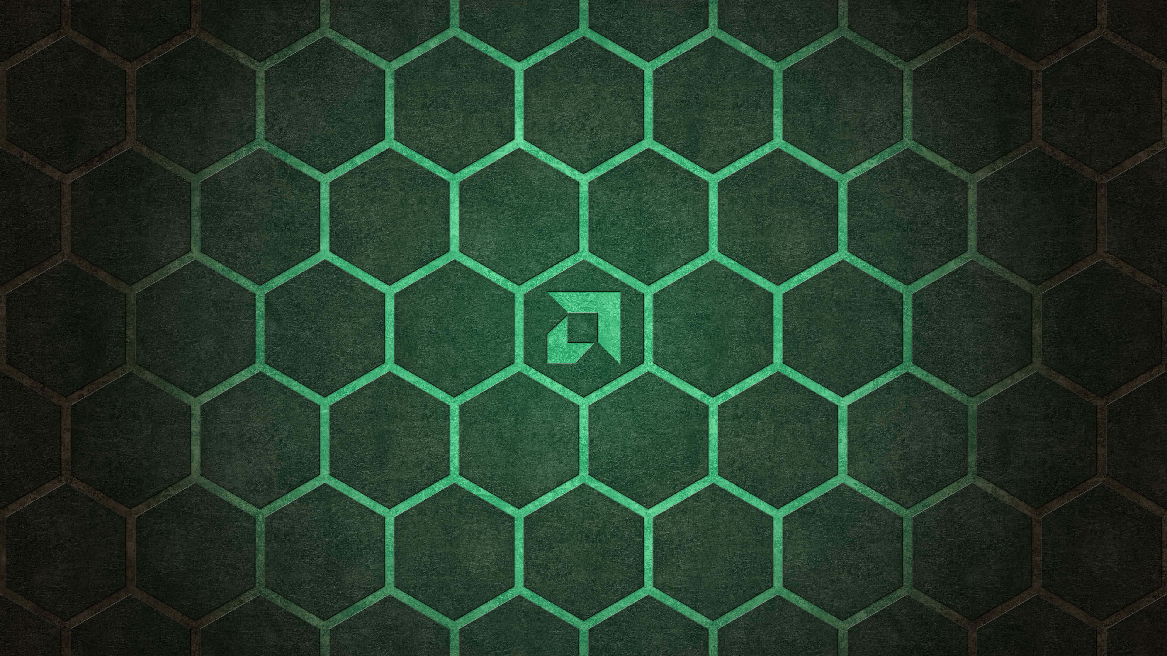 Res: 3840x2160, amd hexagon background uhd 4k wallpaper