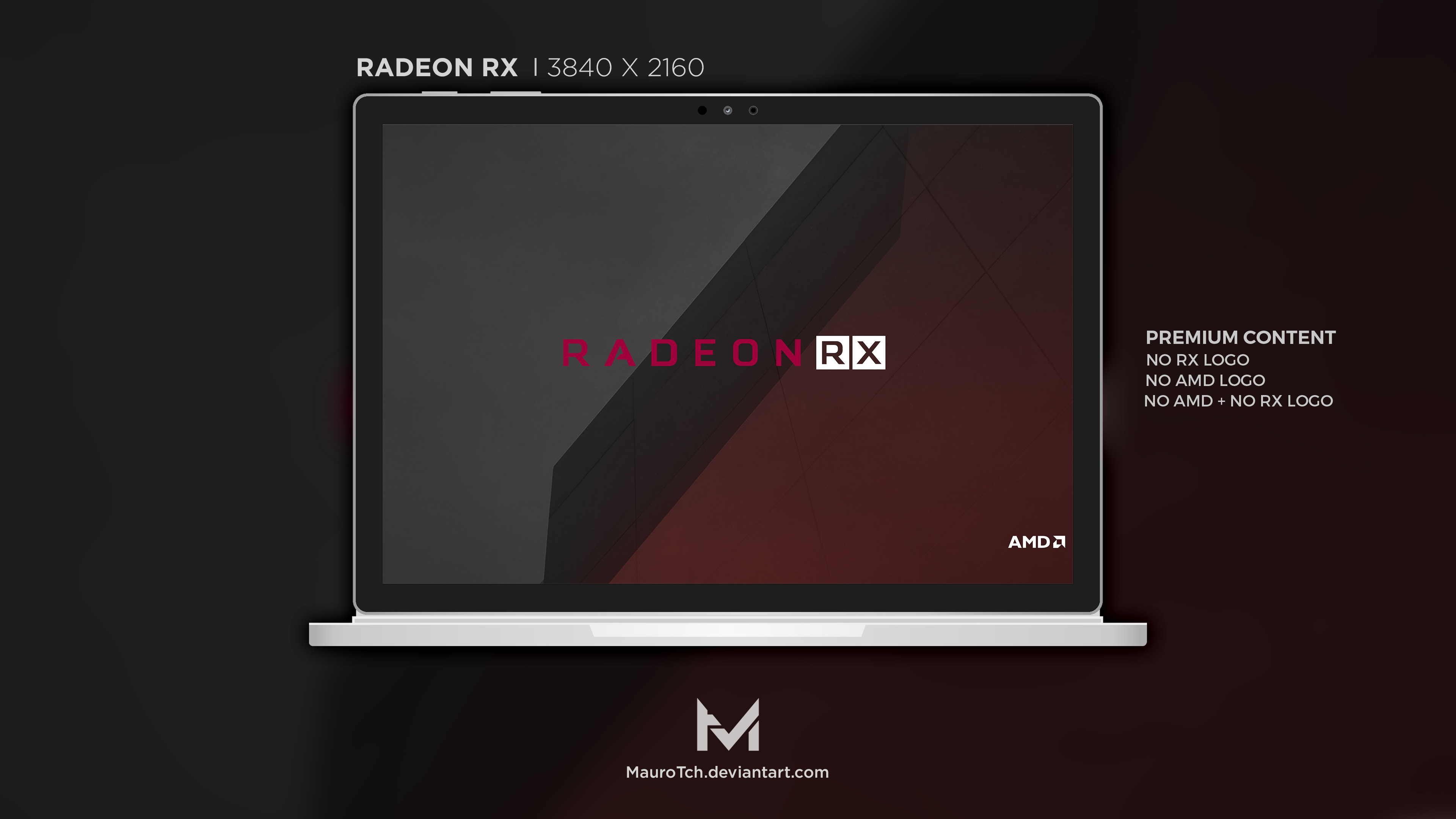 Res: 3840x2160, ... Radeon RX Series - 4K Wallpaper by MauroTch
