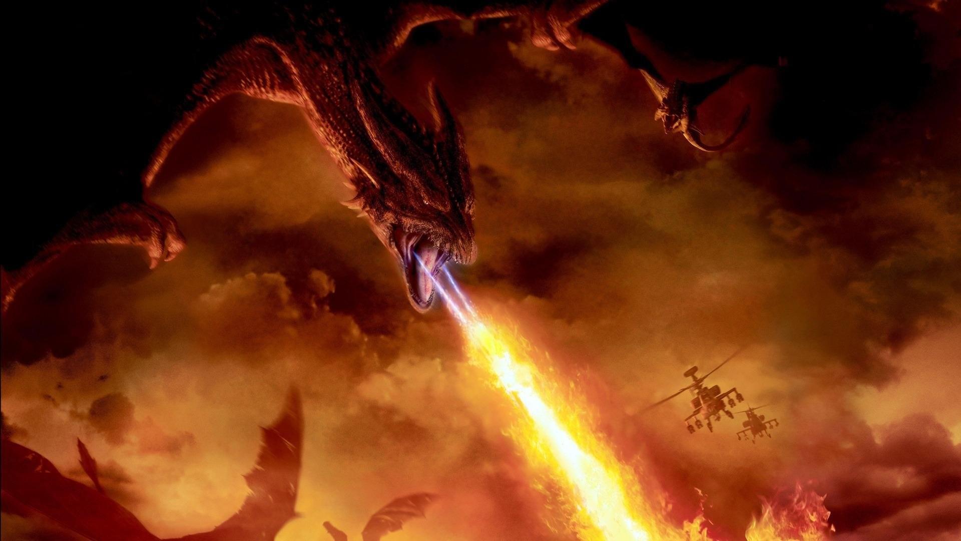 Res: 1920x1080, Filme - Reign Of Fire Drachen Wallpaper