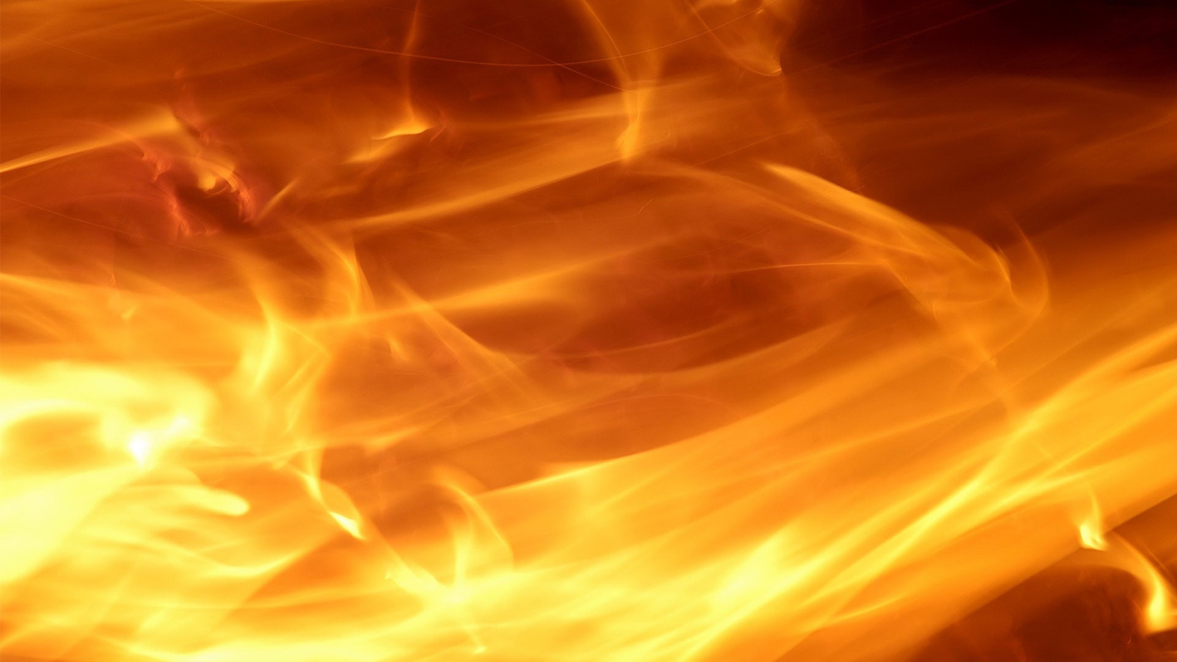 Res: 3840x2160, Fire blurred background abstract wallpapers HD.