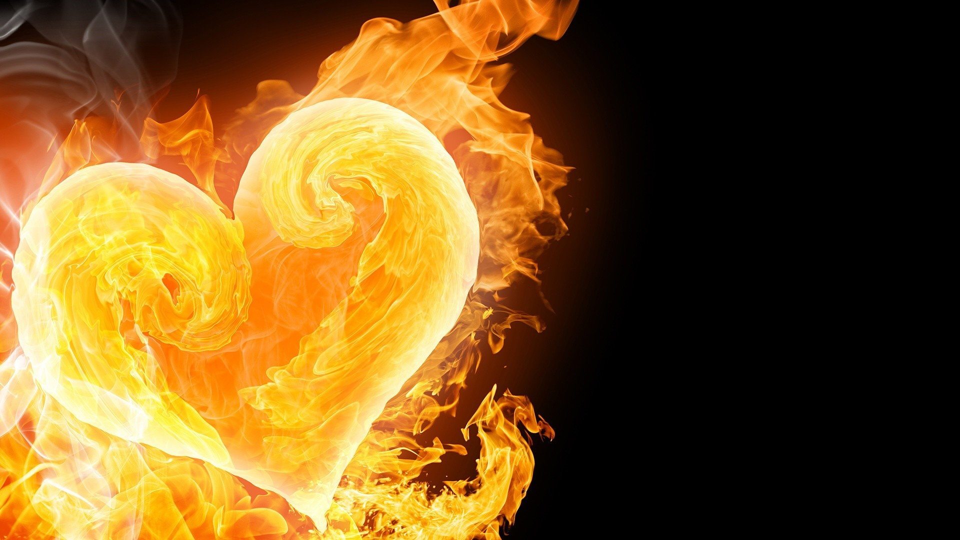 Res: 1920x1080, Collection of Fire Heart Wallpaper on HDWallpapers