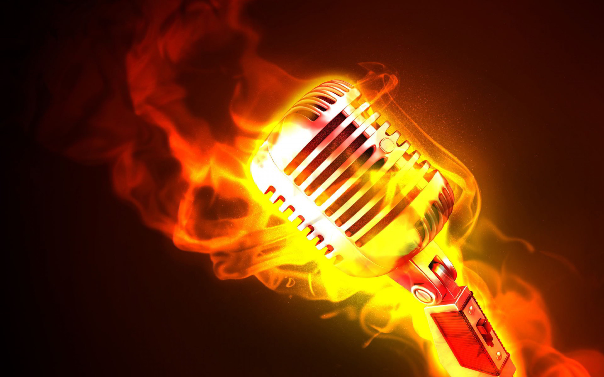 Res: 1920x1200, Mic on fire