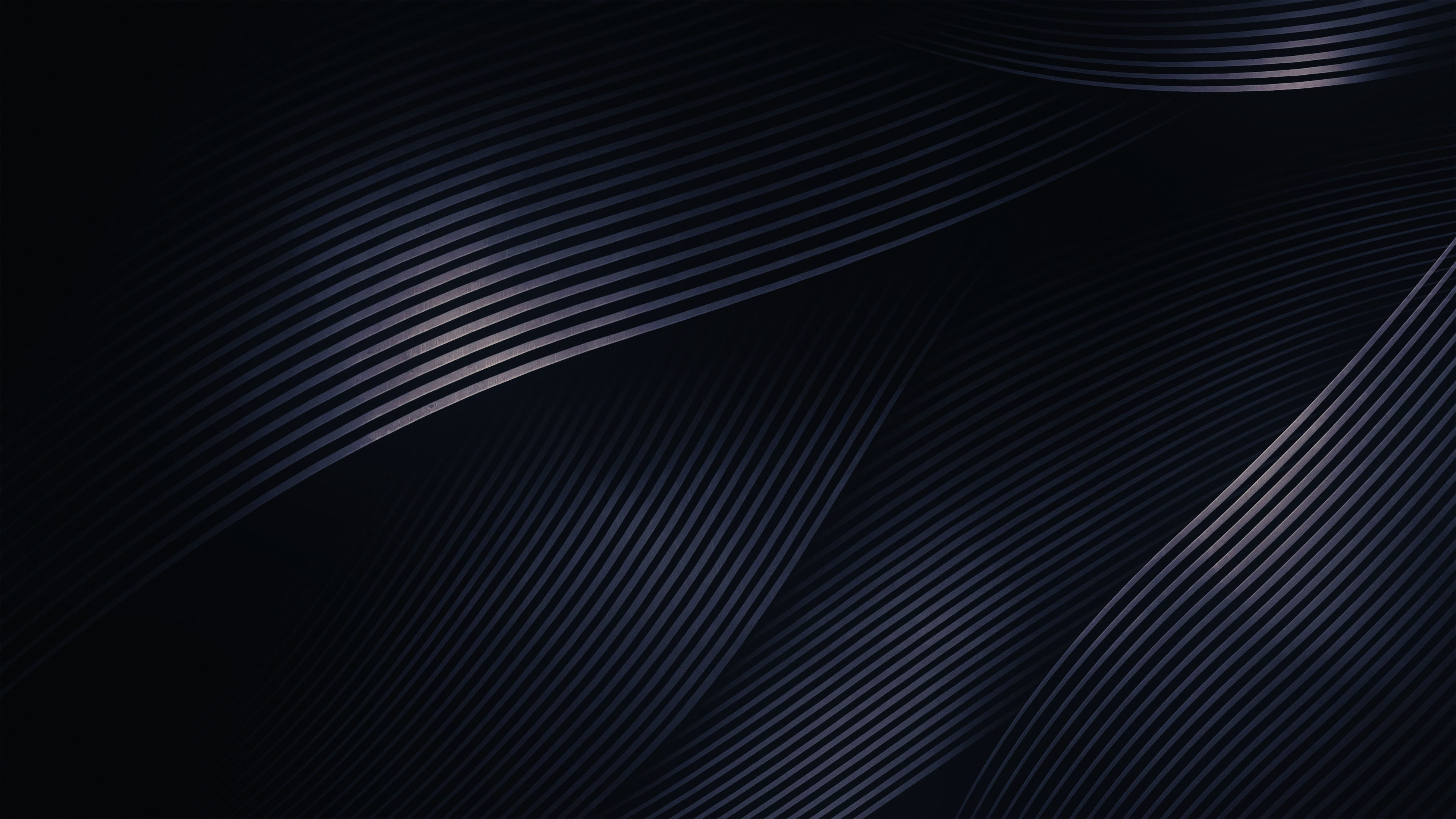 Res: 3840x2160, Abstract Dark Shapes Light 4k