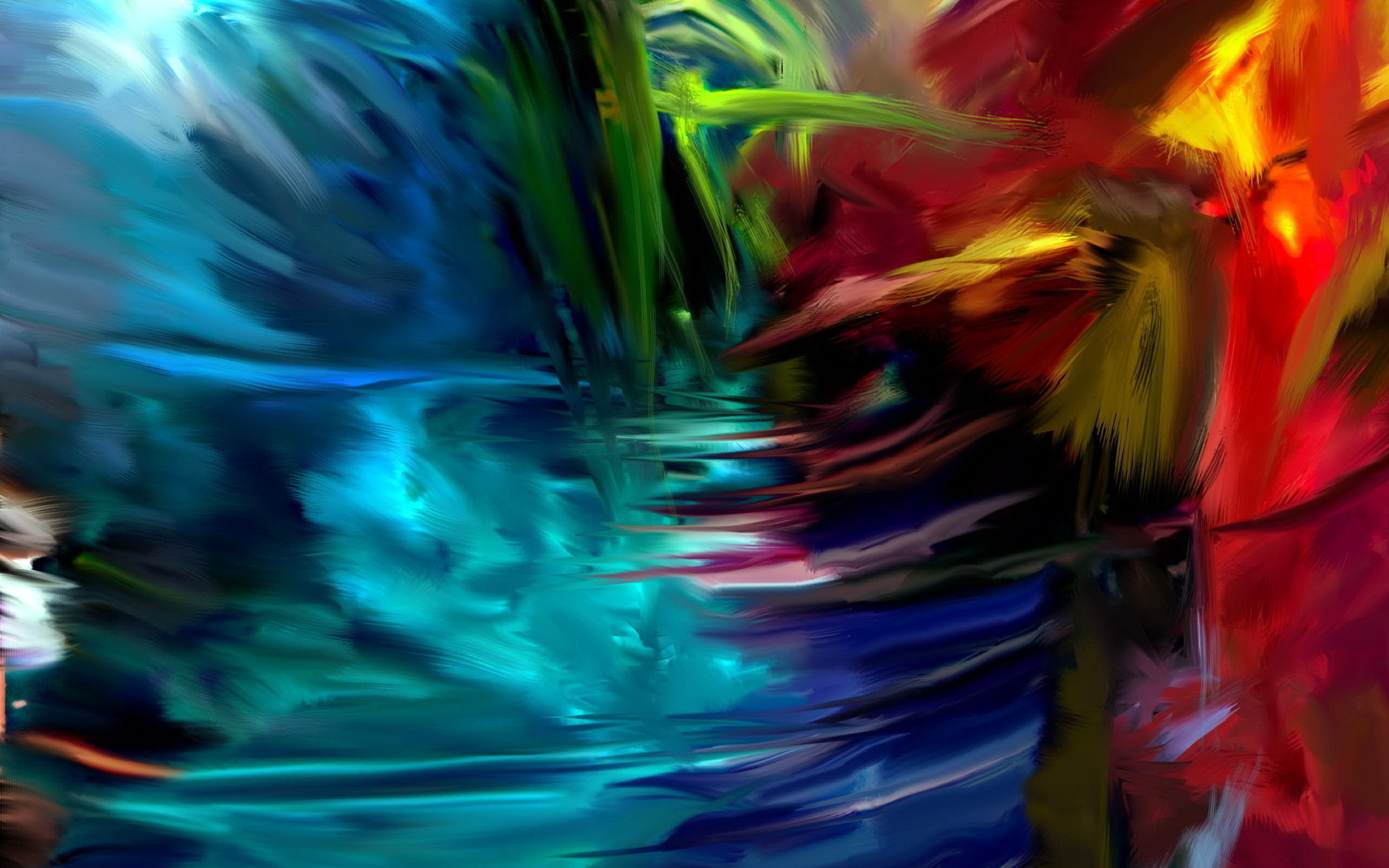Res: 2560x1600, Artistic Abstract Wallpaper Free For Widescreen Wallpaper