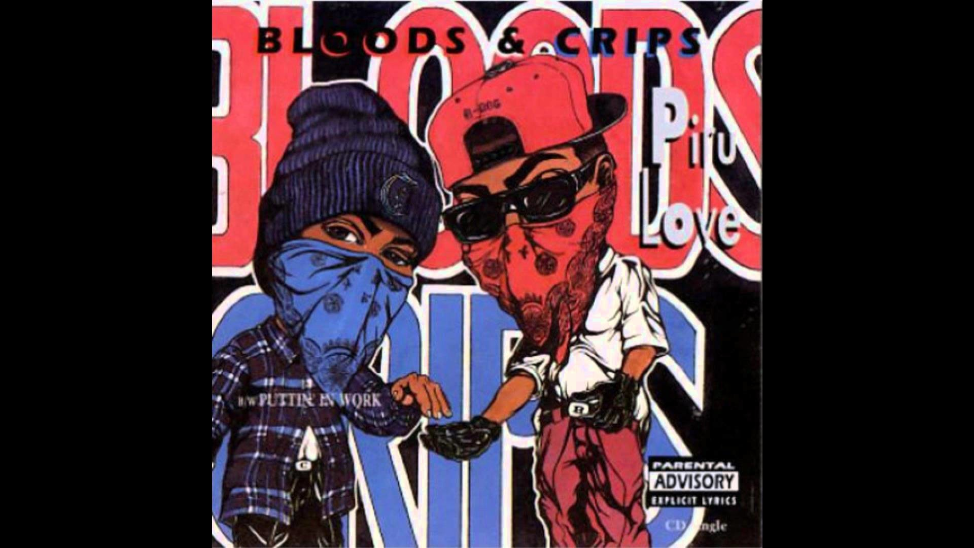 Res: 1920x1080, Bloods & Crips - Piru Love (Original Version)