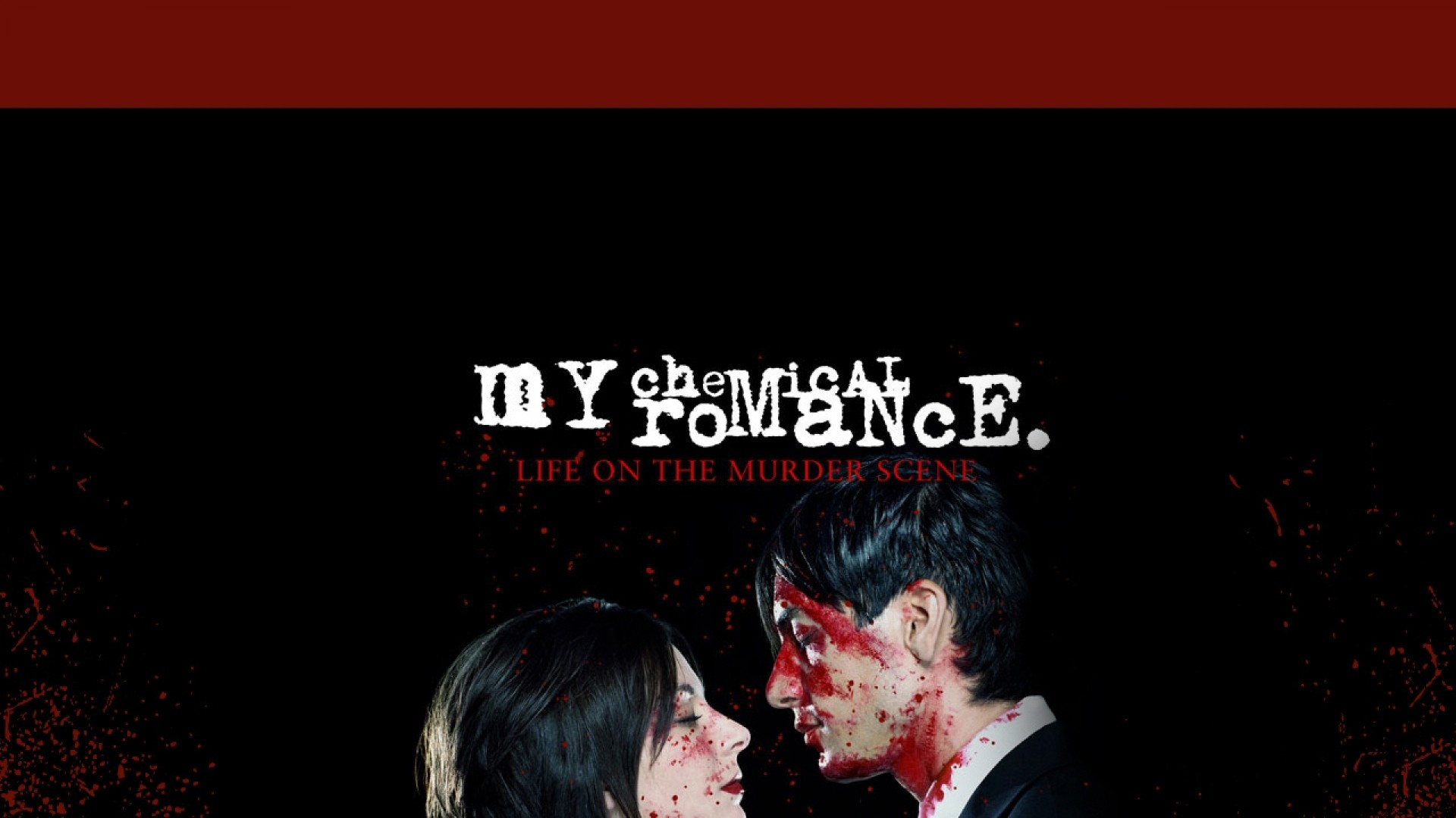 Res: 1920x1080, my chemical romance, cover, blood