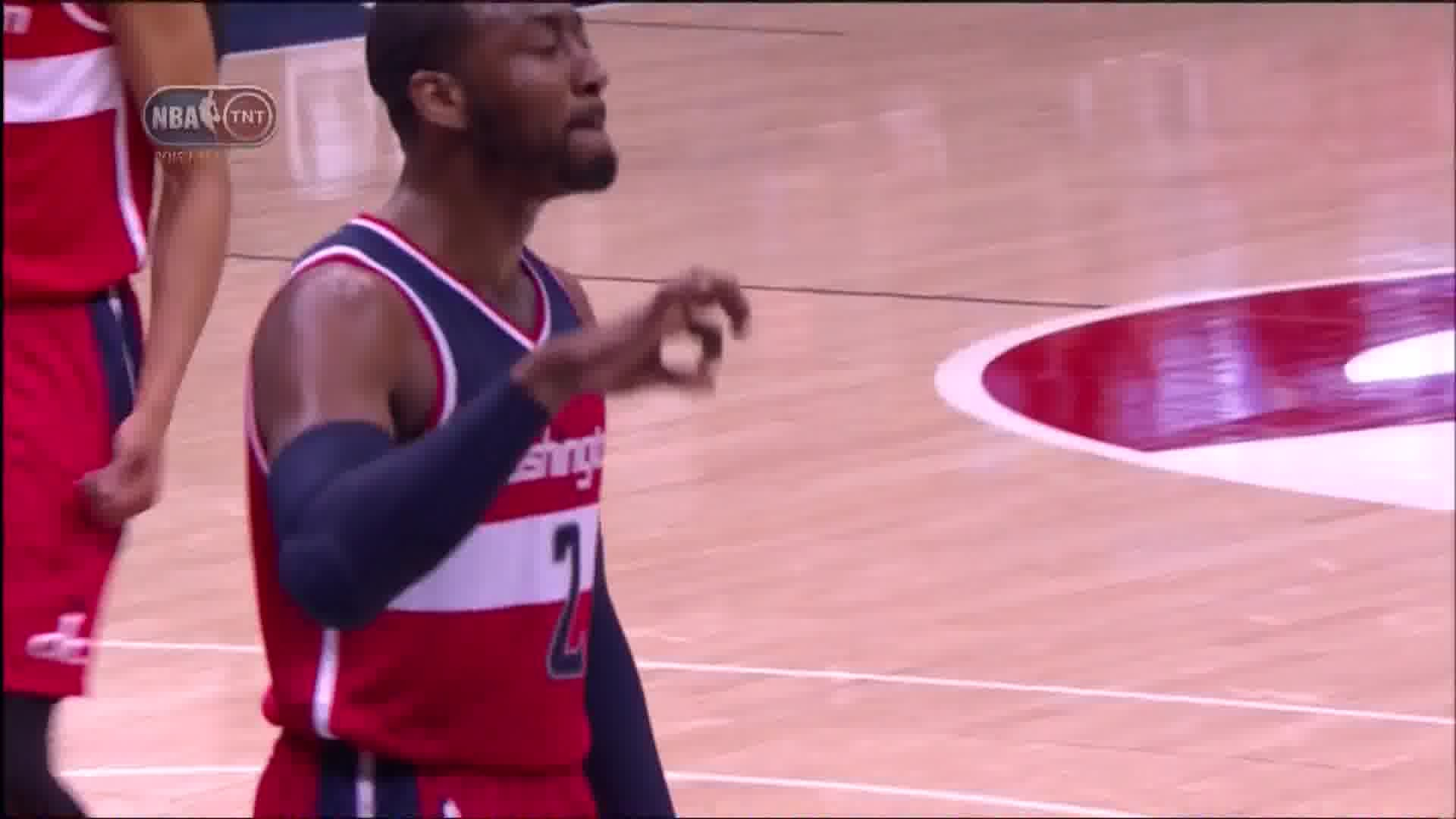Res: 1920x1080, John Wall Throwing up Gang Signs in Game 5 Loss to Hawks .