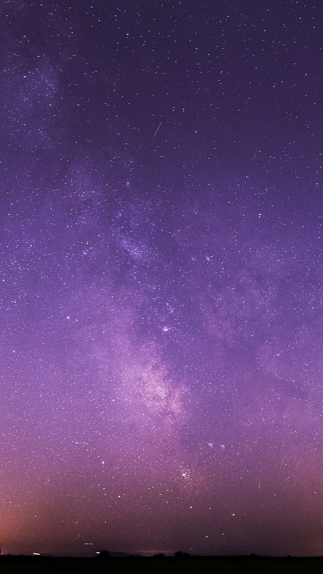 Res: 1080x1920, Purple Night Sky Stars Milky Way Android Wallpaper ...
