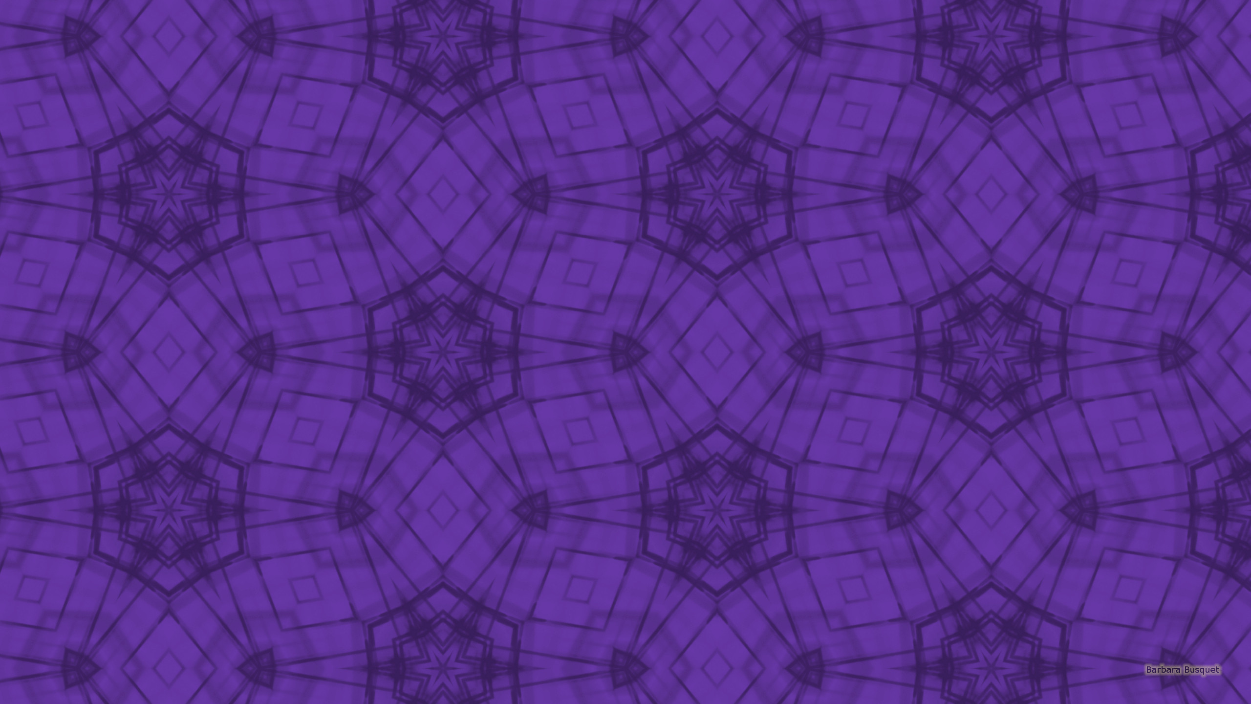 Res: 2560x1440, Light and dark purple star pattern wallpaper