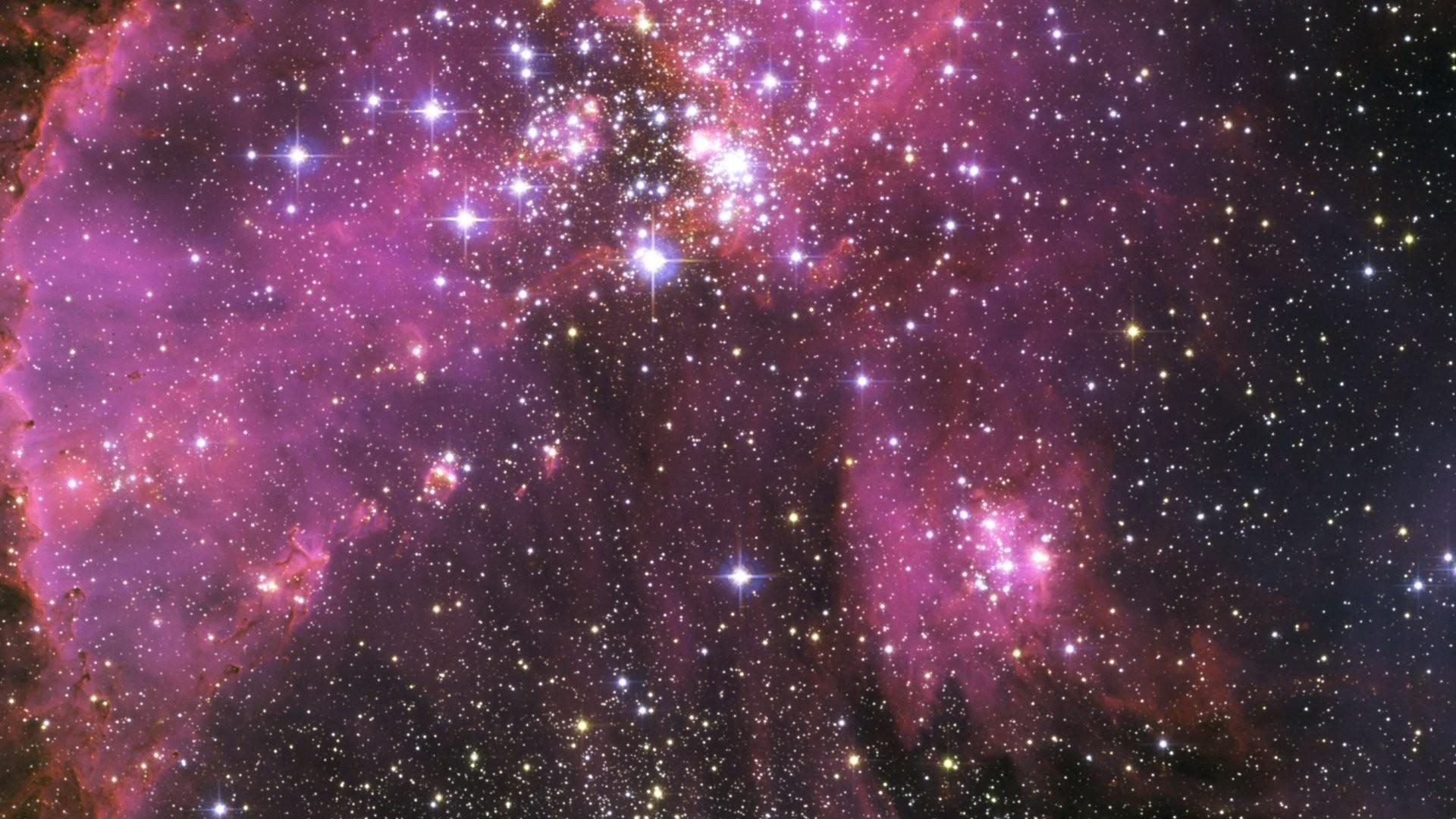 Res: 1920x1080, Purple space wallpaper PC en
