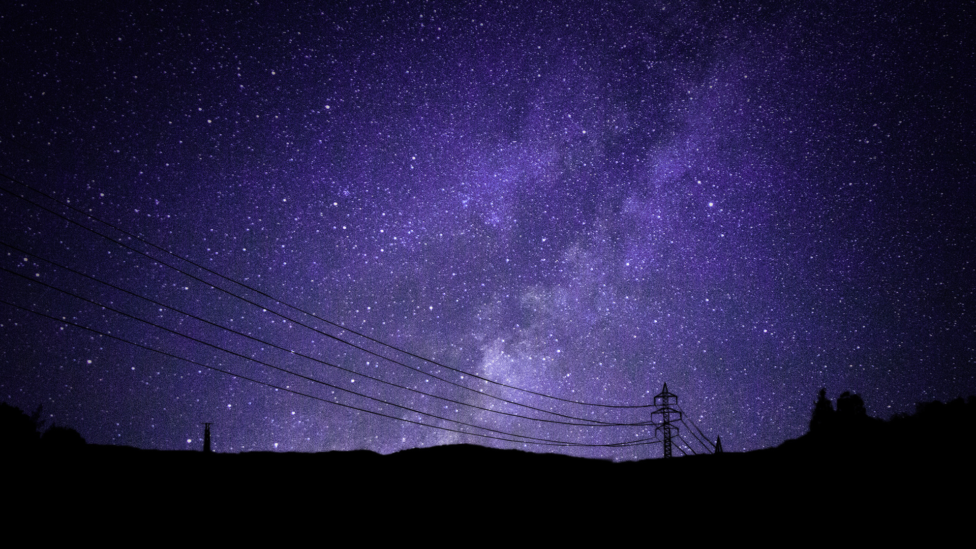 Res: 1920x1080, PlusPng.com galaxy-stars-wallpaper-hd PlusPng.com - Purple .