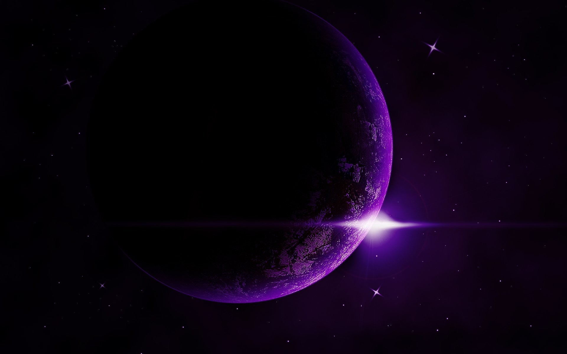 Res: 1920x1200, exoplanet star space purple