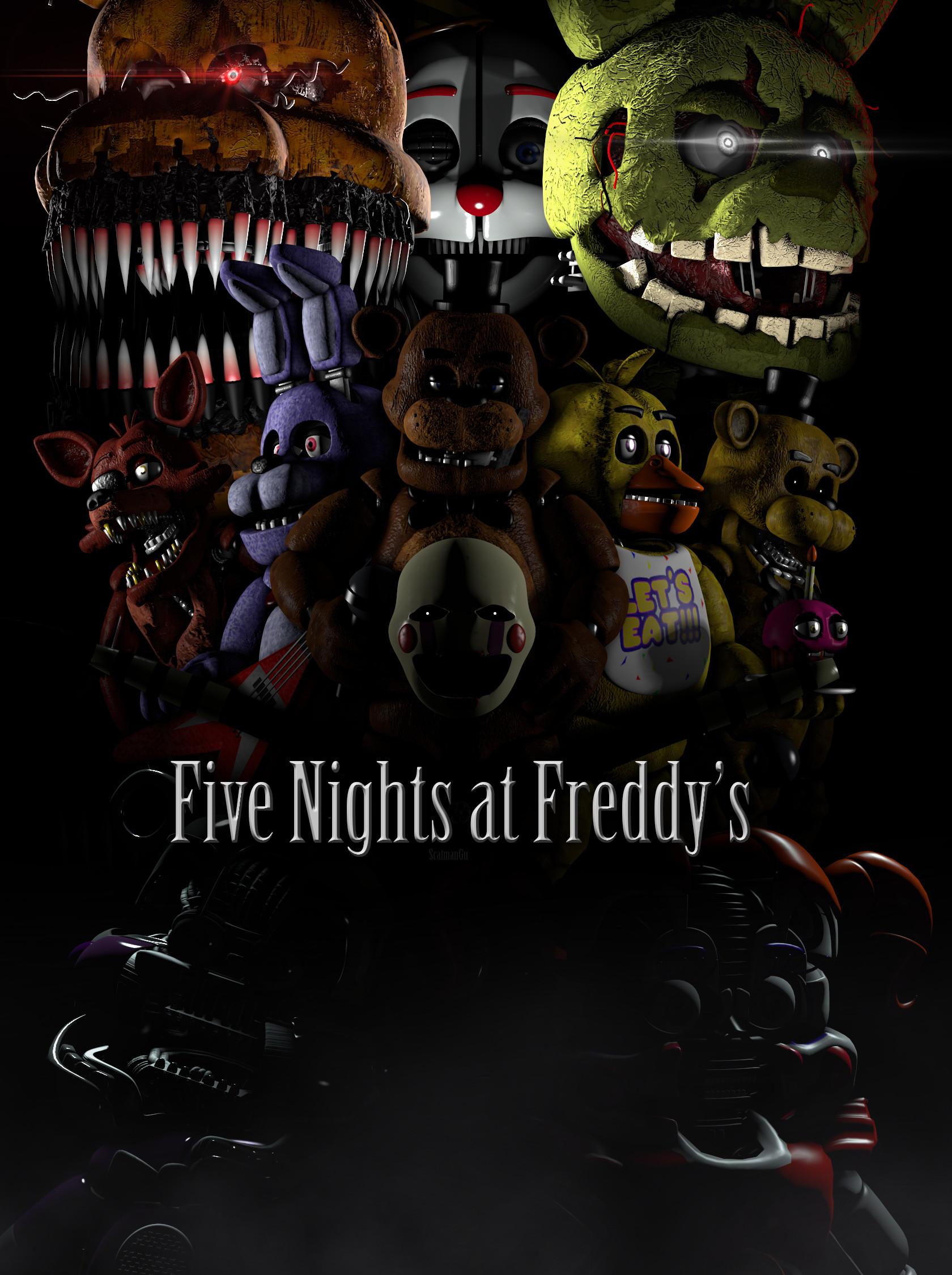 Res: 1680x2250, Five Nights at Freddy's. (400 wa. special) {SFM} by ScatmanGu