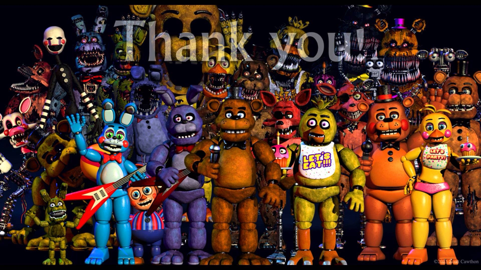"""Res: 1920x1080, In early August 2015, Scott put up a """"Thank you!"""" Image on his website."""
