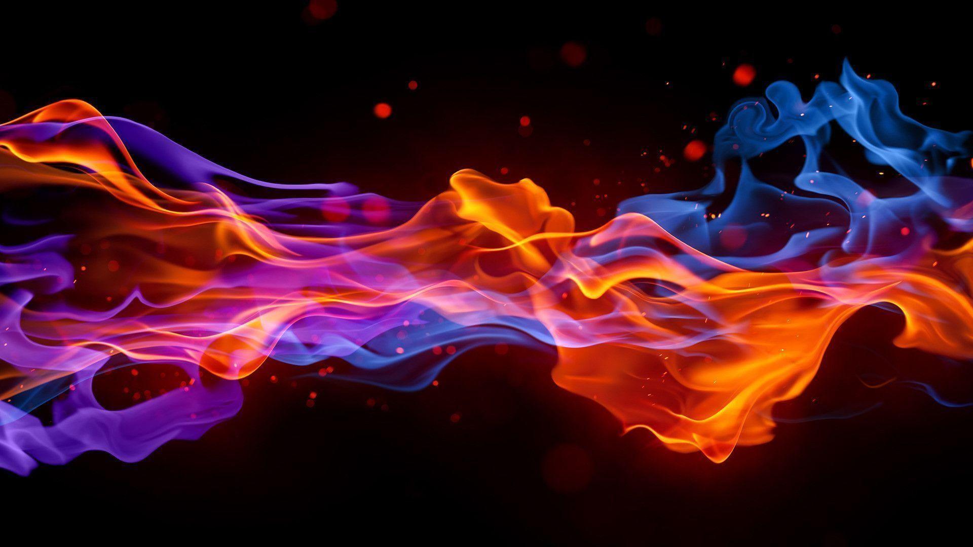 Res: 1920x1080, Blue Fire Wallpapers - HD Wallpapers Inn